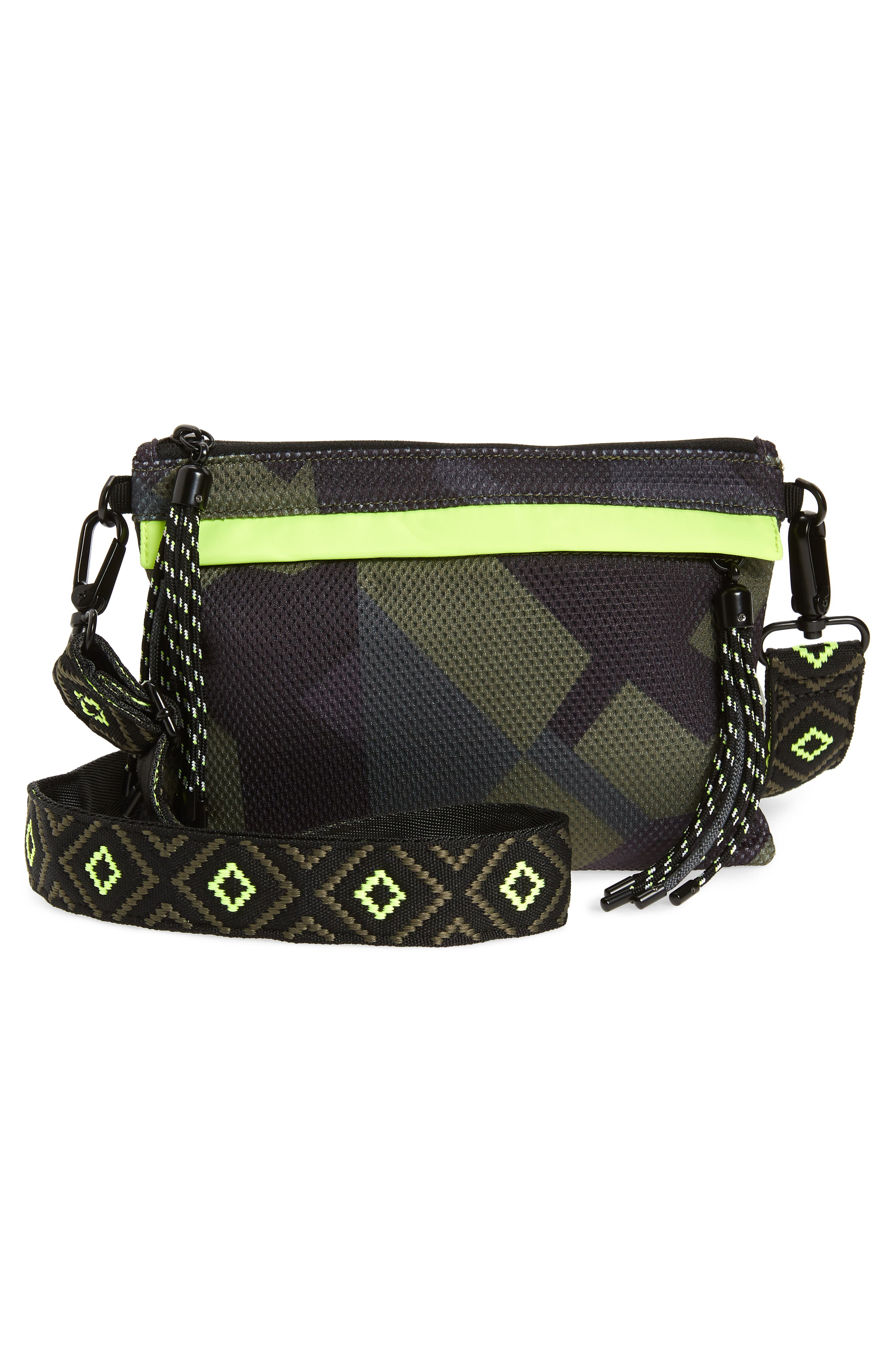 Water Resistant Backpack,                             Alternate thumbnail 7, color,                             Olive Camo
