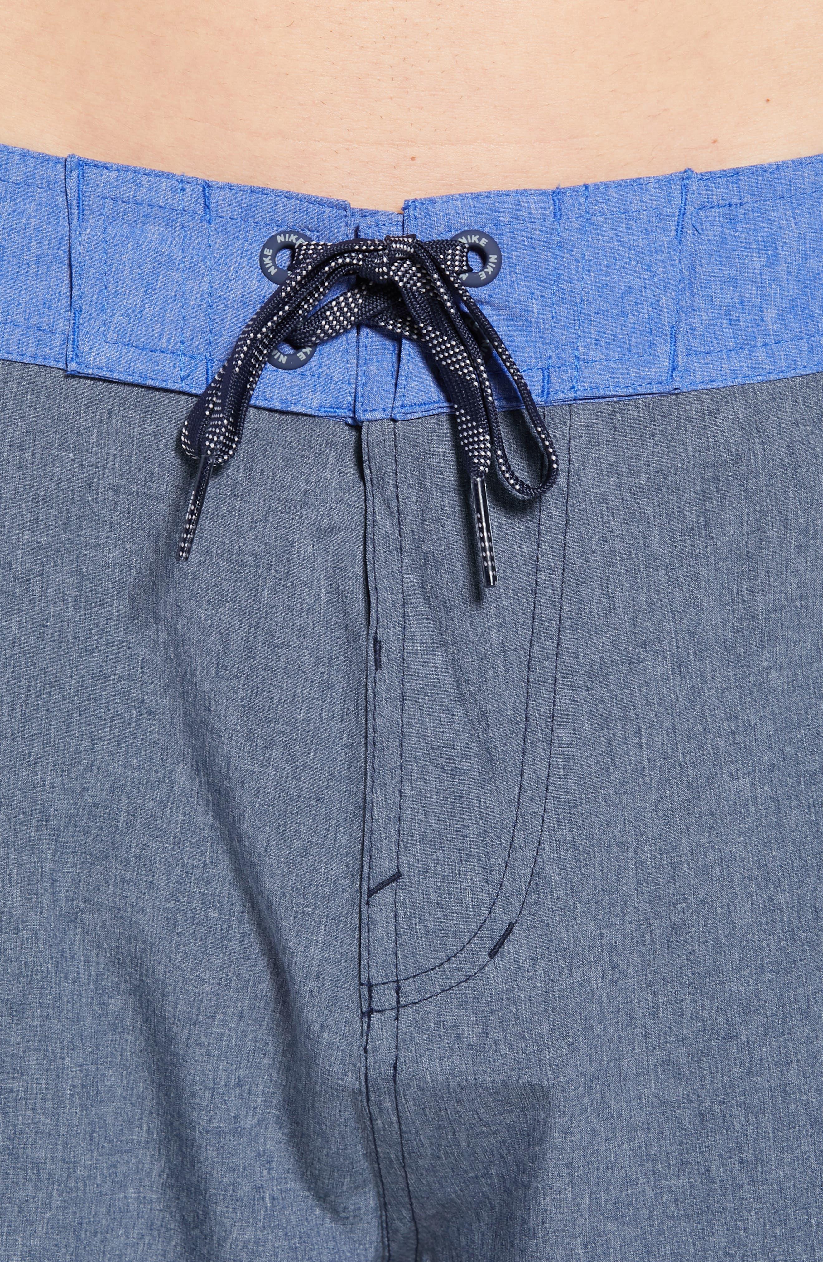 Vortex Board Shorts,                             Alternate thumbnail 5, color,                             Obsidian