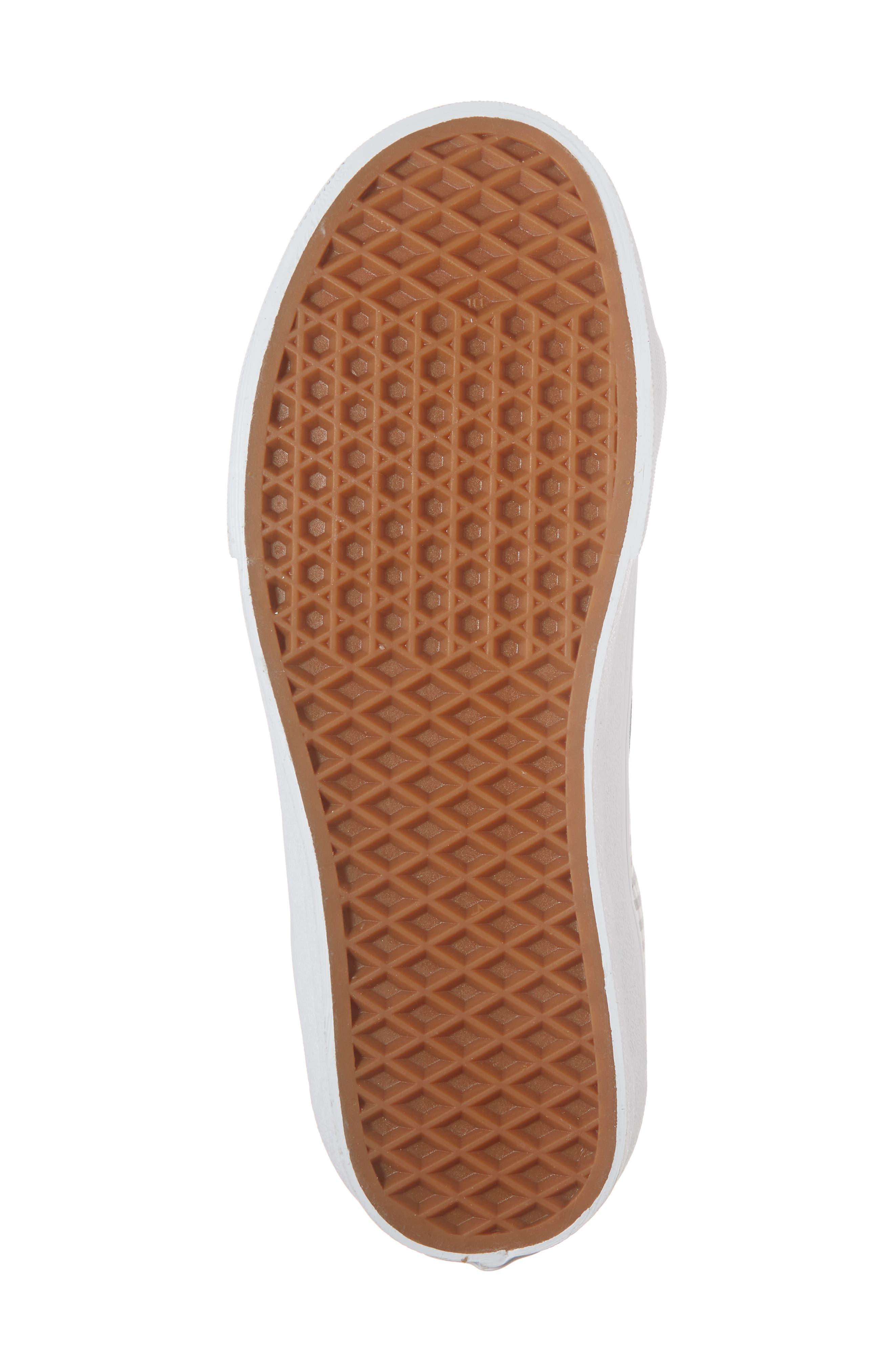 'Sk8-Hi Reissue' Sneaker,                             Alternate thumbnail 6, color,                             Titanium/ True White