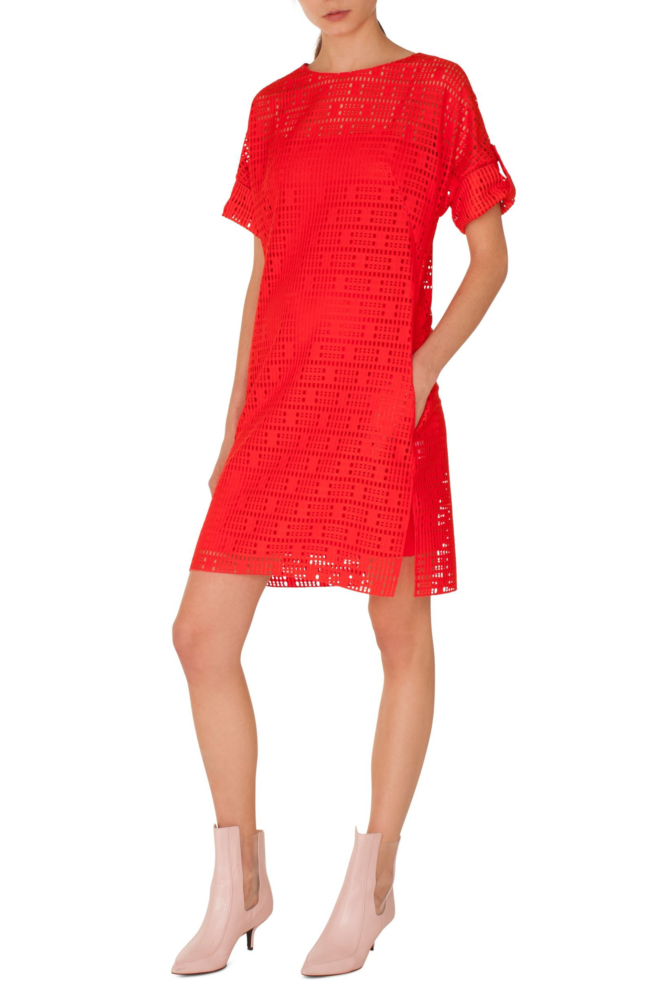 Akris punto Lace Shift Dress