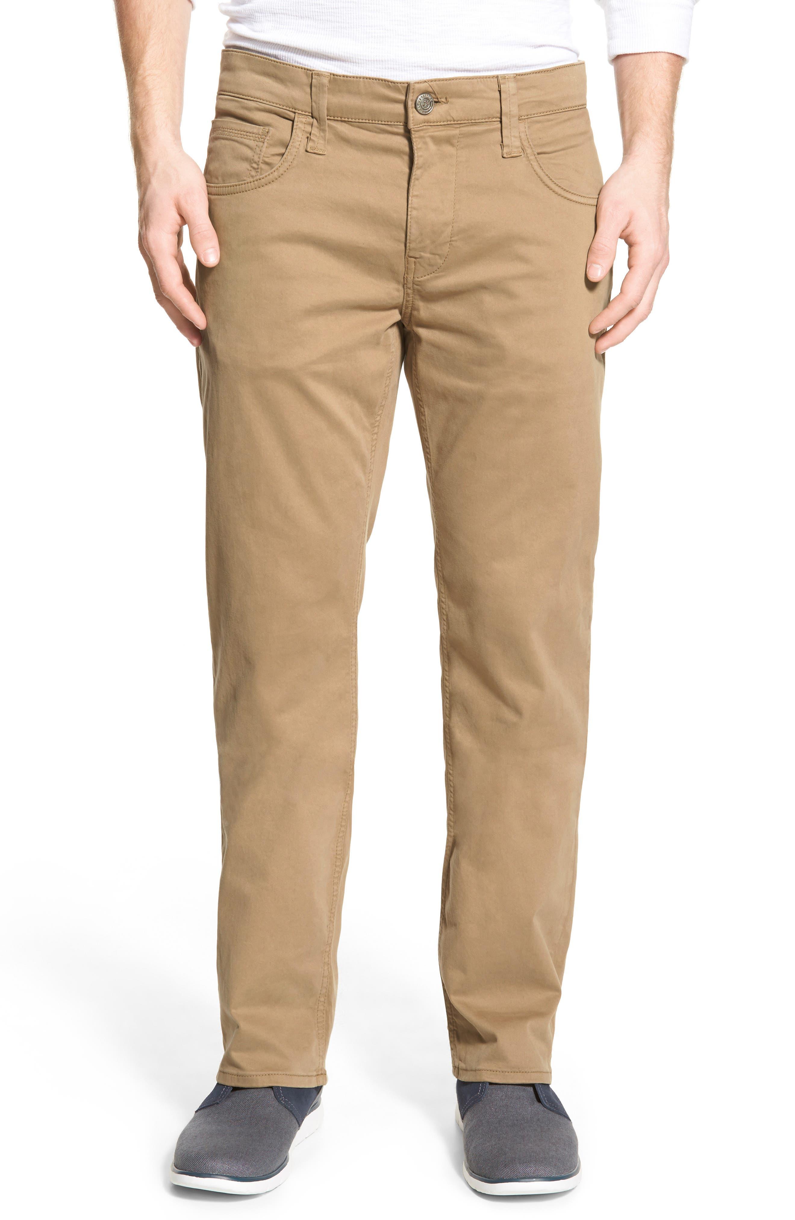 Zach Twill Pants,                         Main,                         color, Khaki