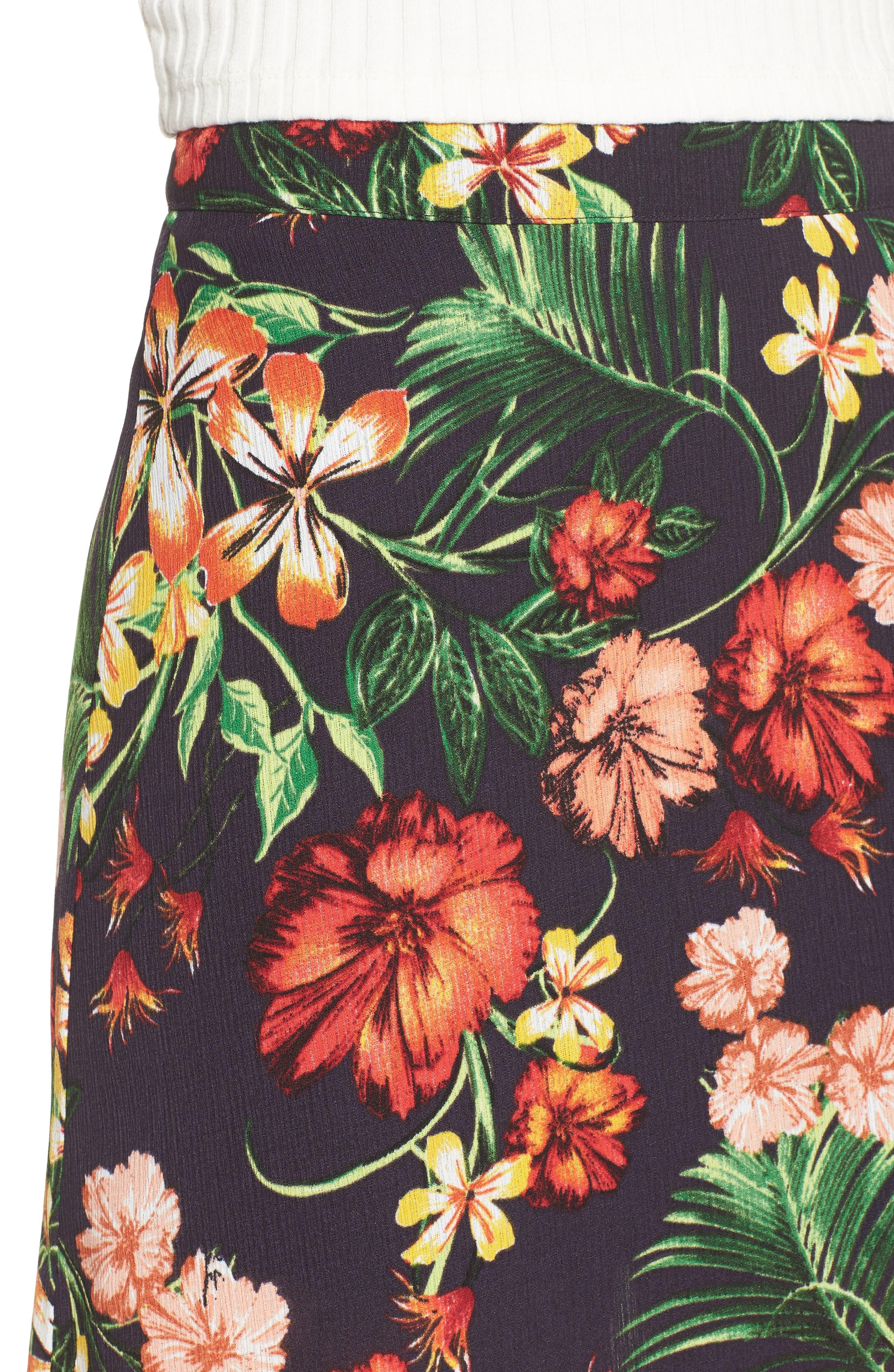 Alternate Image 5  - Floral Maxi Skirt