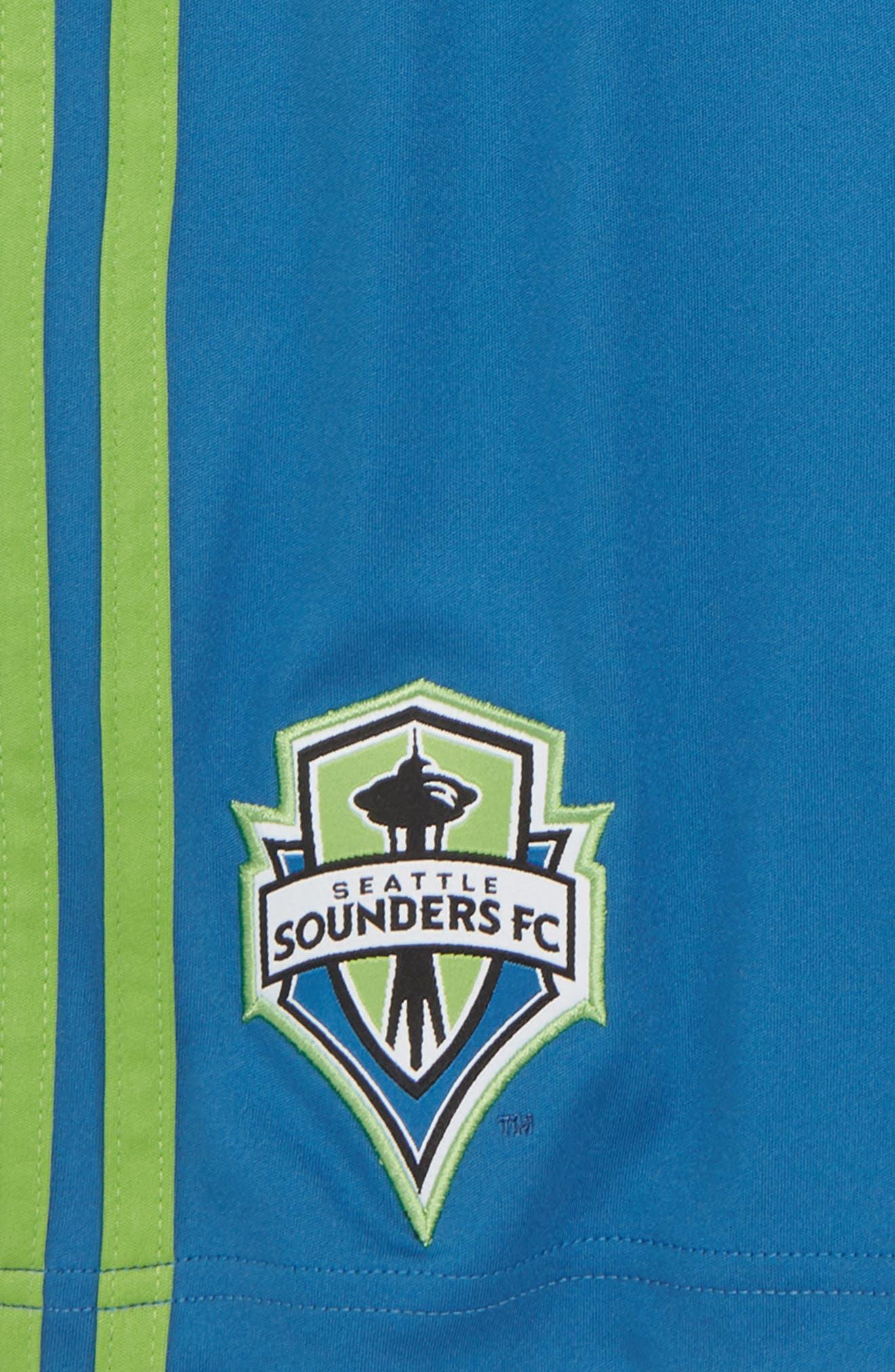 Alternate Image 2  - adidas MLS Seattle Sounders FC Shorts (Big Boys)
