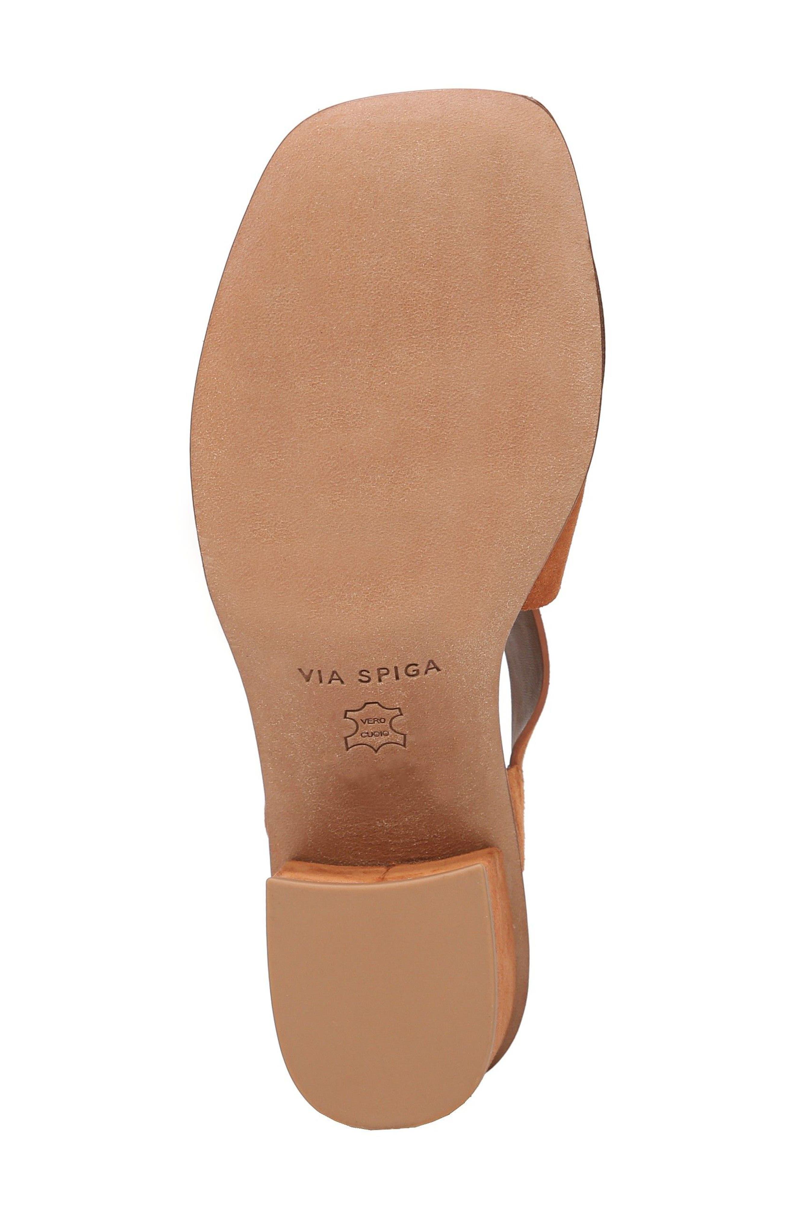 Katya Shield Sandal,                             Alternate thumbnail 6, color,                             Amber Suede