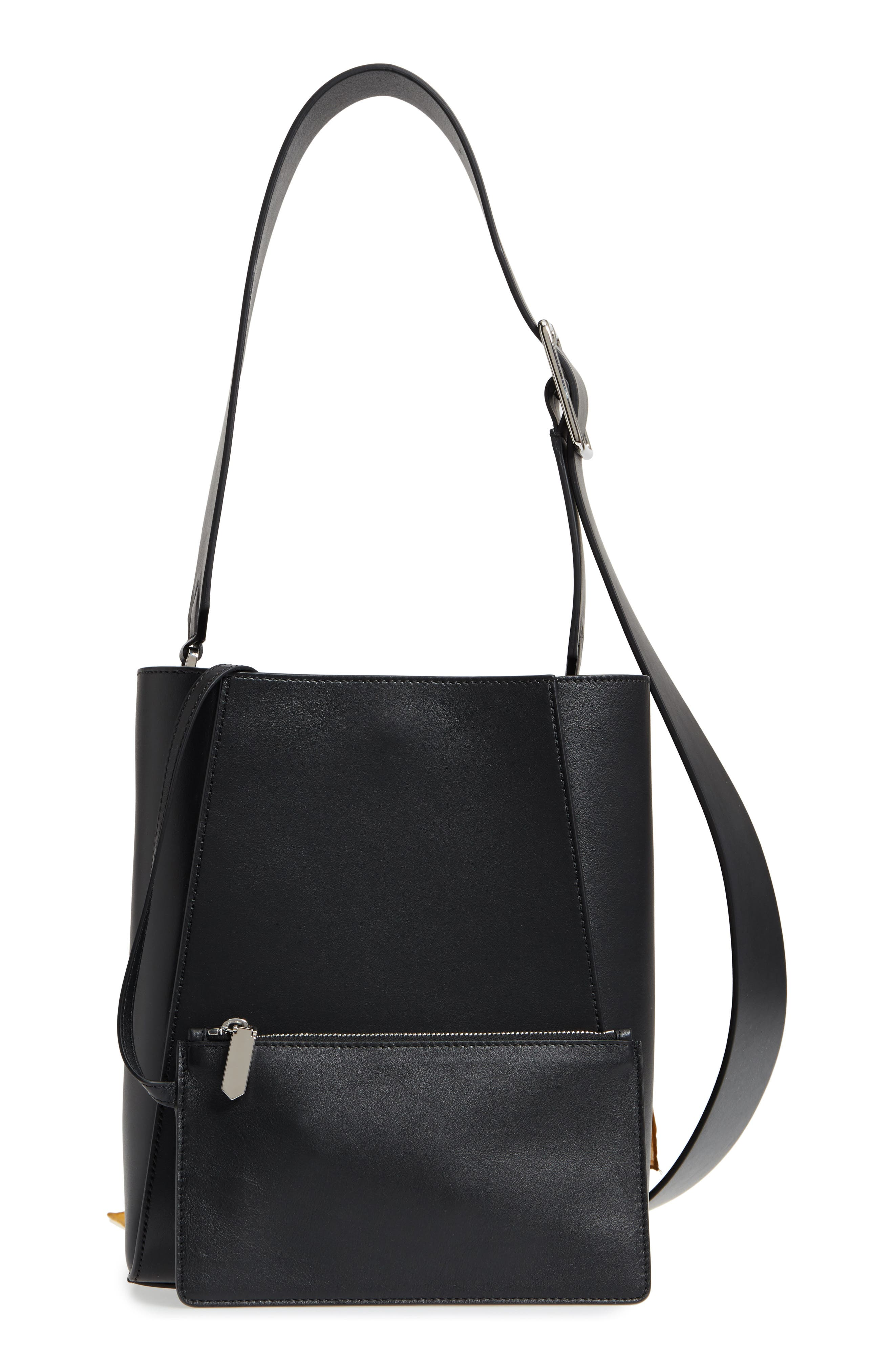 X Andy Warhol Foundation Small Bucket Bag With Bandana & Removable Pouch by Calvin Klein 205 W39 Nyc