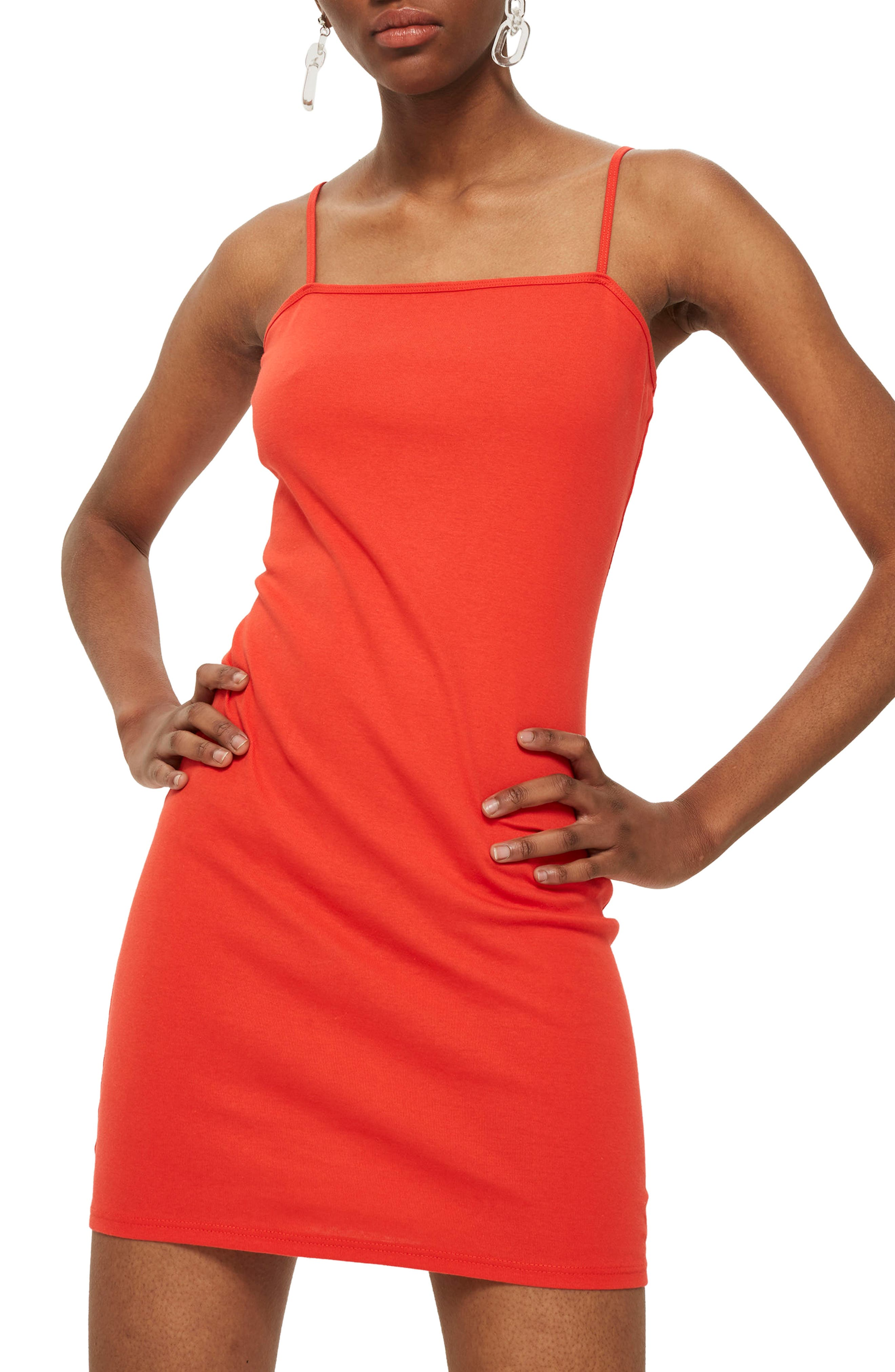 Main Image - Topshop Jersey Body-Con Minidress