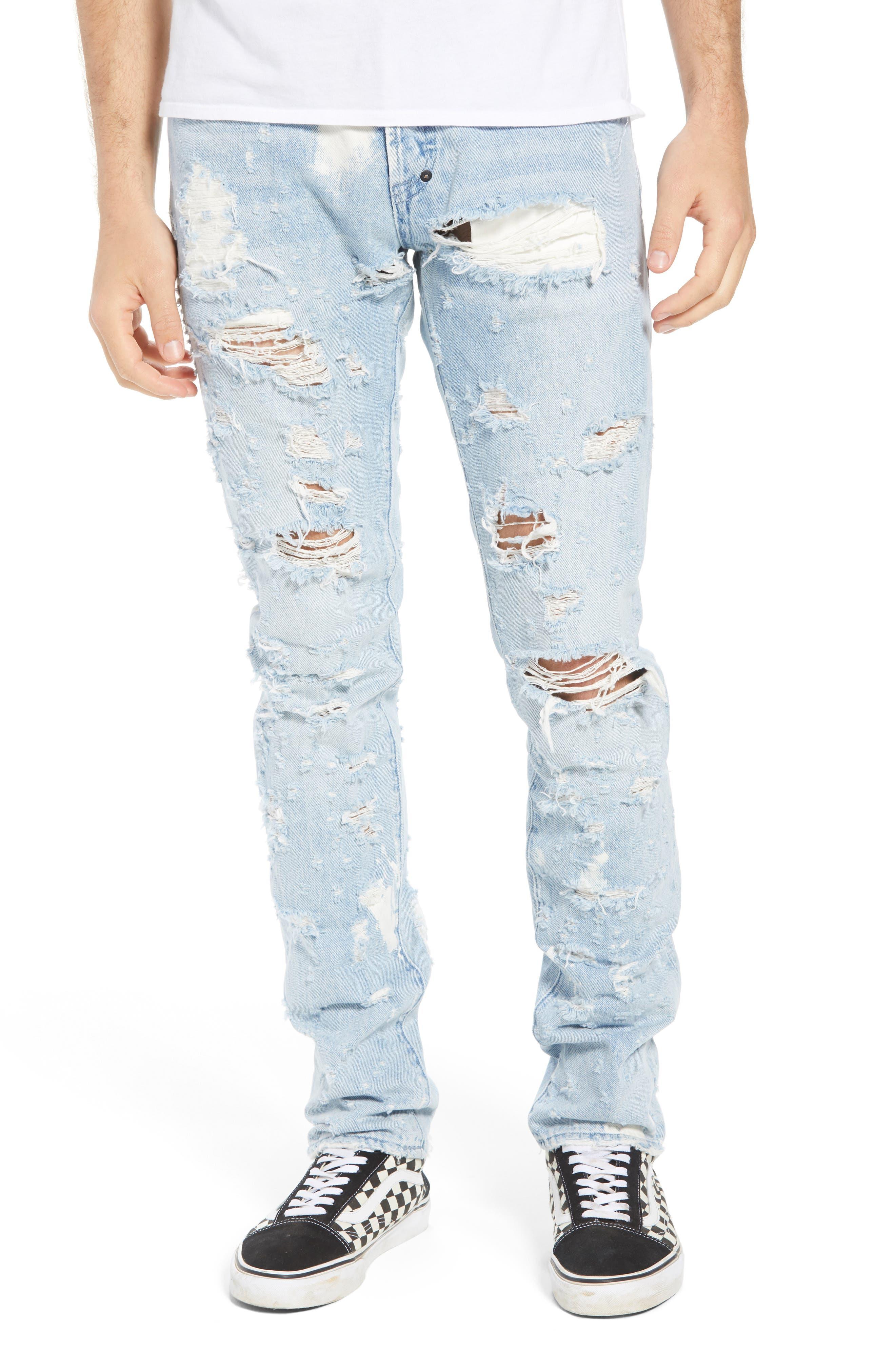 Le Sabre Slim Fit Jeans,                             Main thumbnail 1, color,                             Lavish