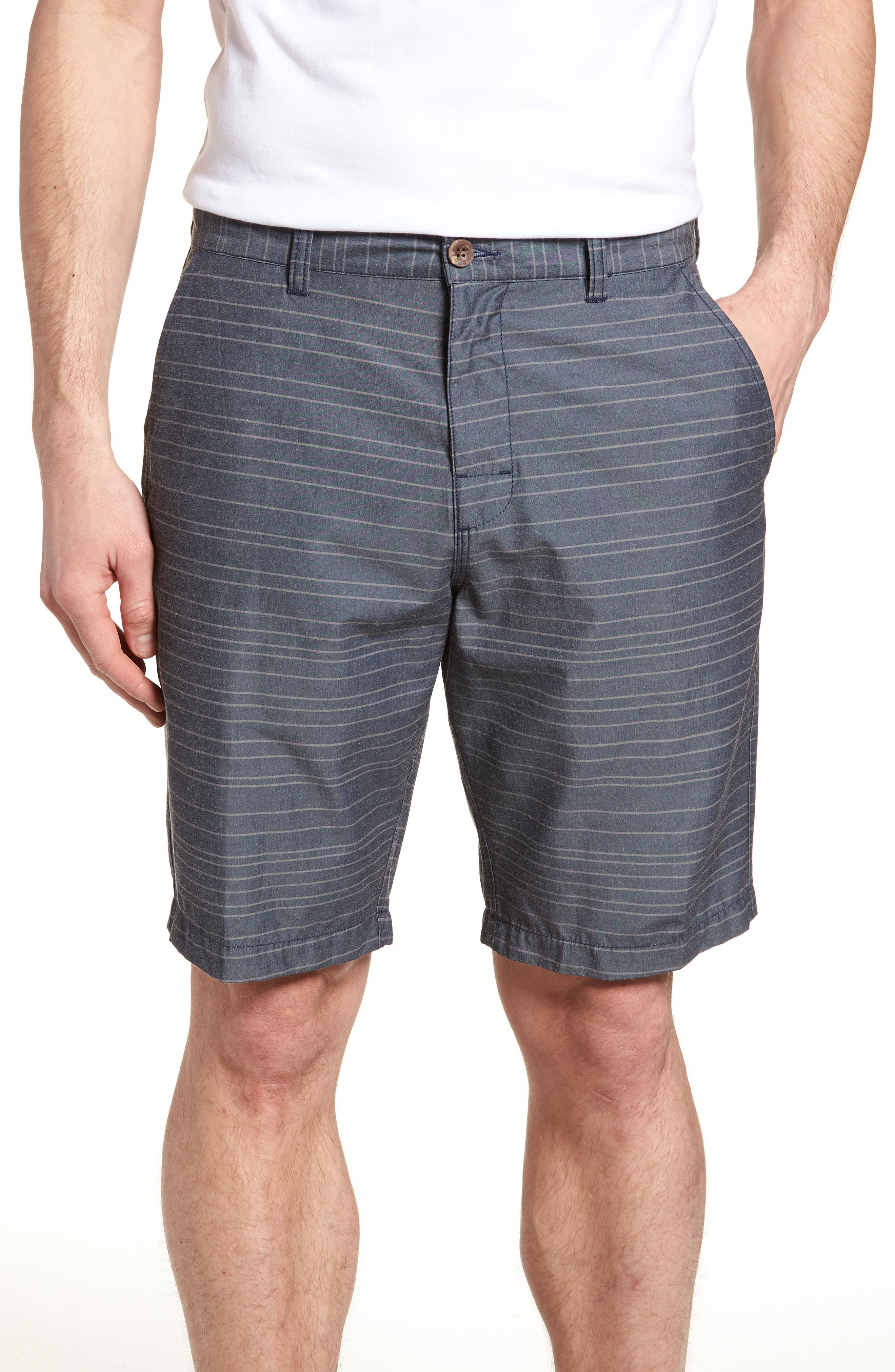 Weekend Hybrid II Shorts,                             Main thumbnail 1, color,                             Classic Indigo