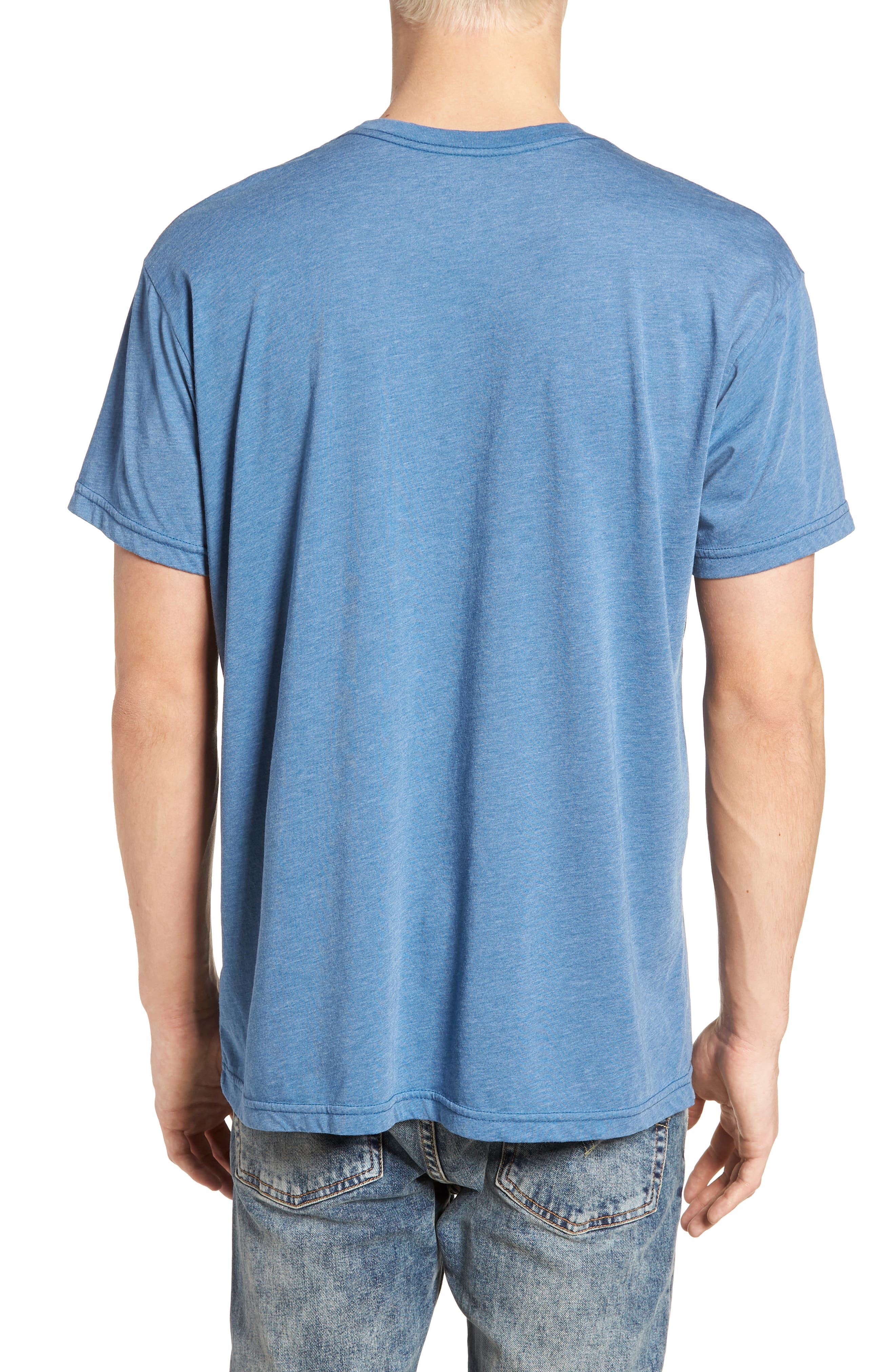 Devo Graphic T-Shirt,                             Alternate thumbnail 2, color,                             Heather Blue