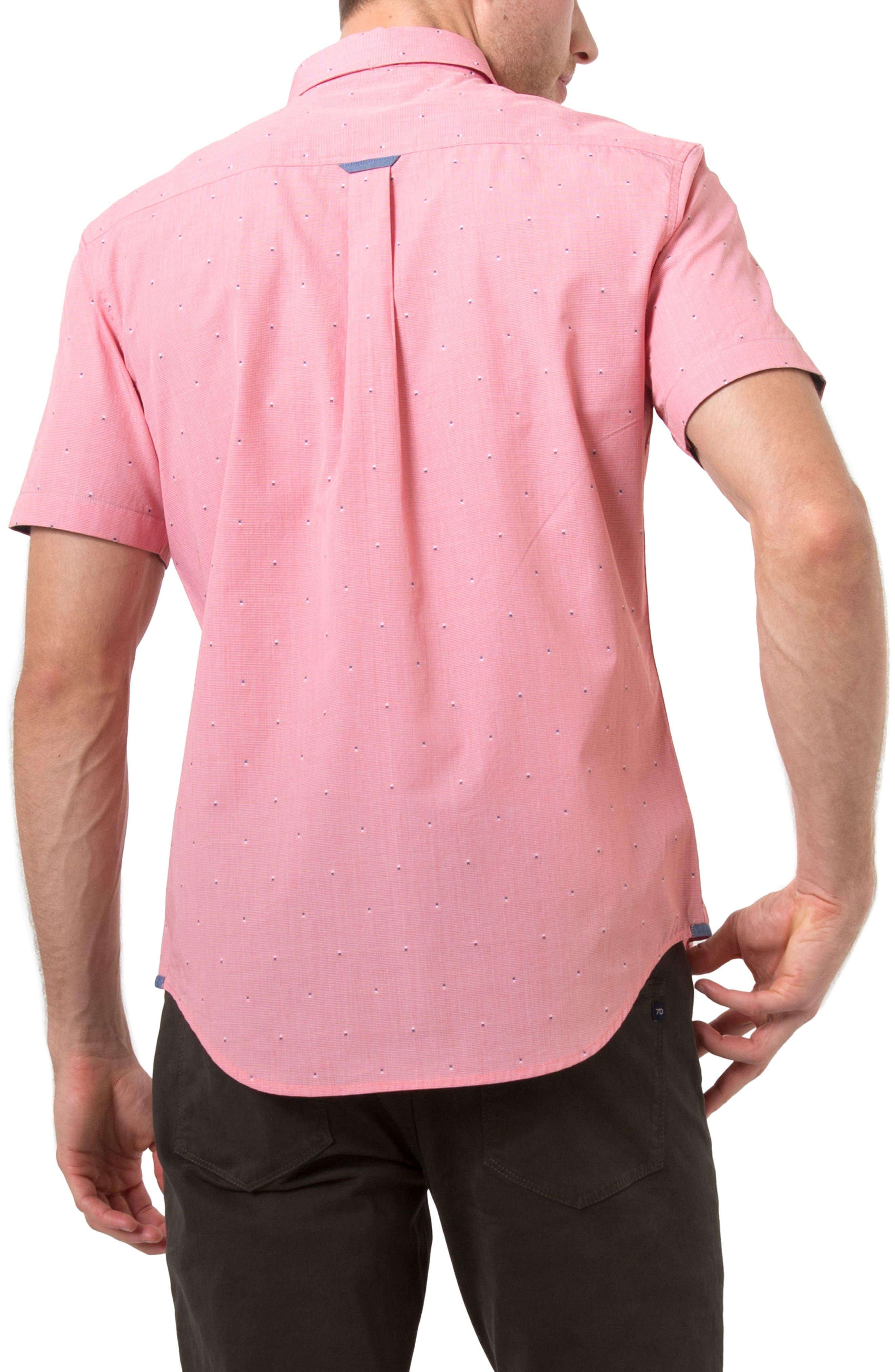 American Soul Sport Shirt,                             Alternate thumbnail 3, color,                             Orange