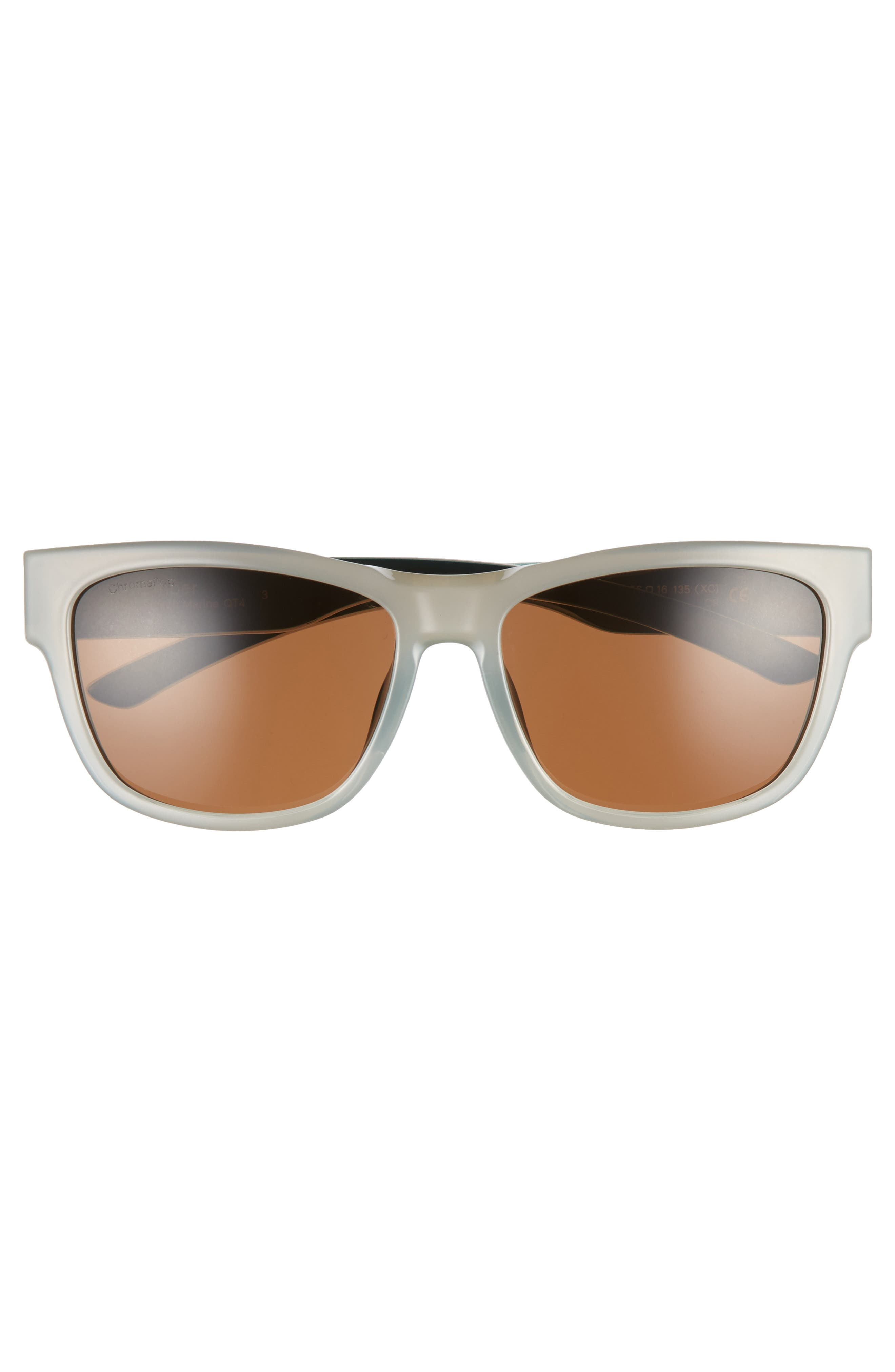 Ember 52mm ChromaPop<sup>™</sup> Sunglasses,                             Alternate thumbnail 3, color,                             Bleach Marine