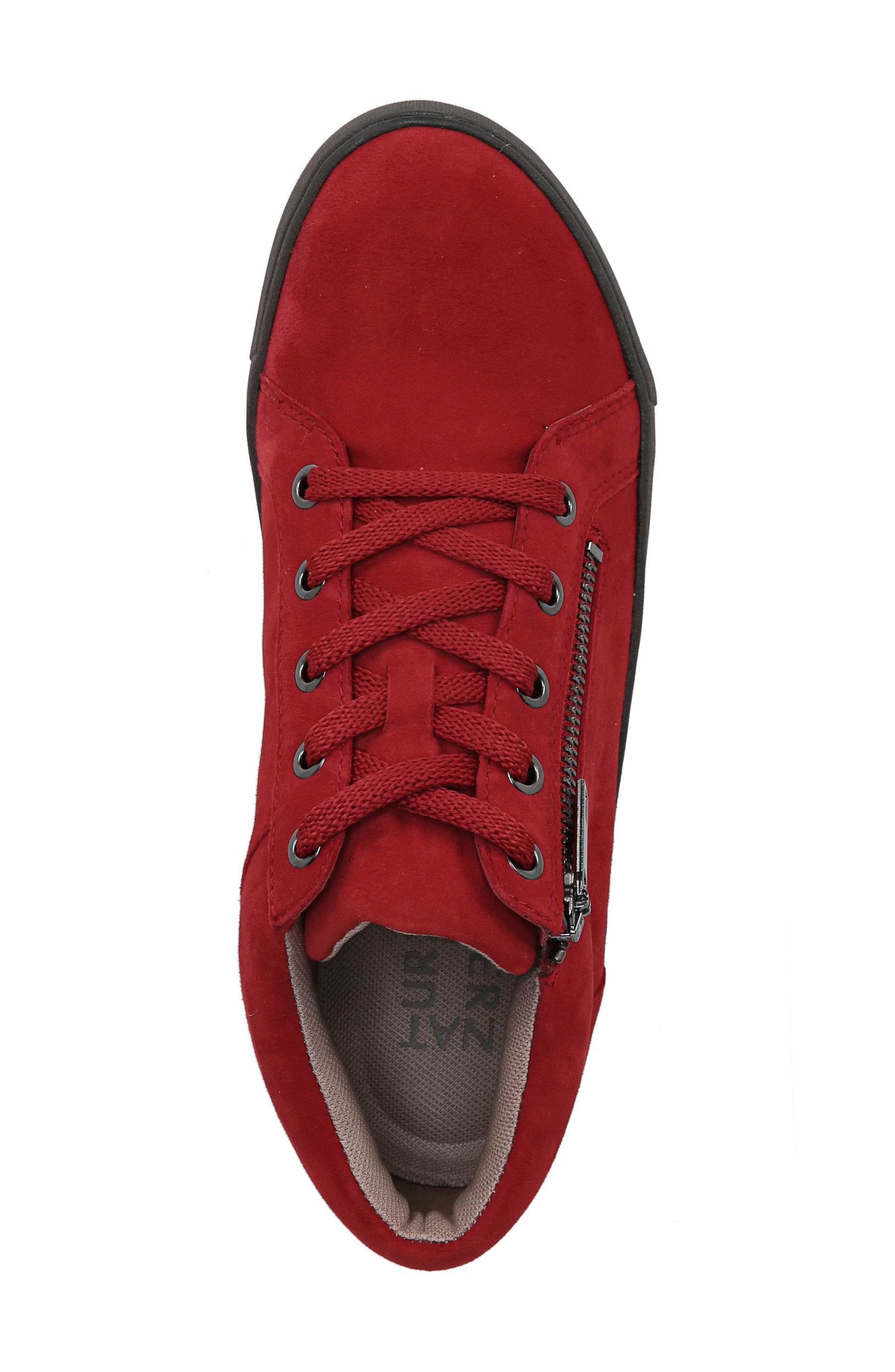 Motley Sneaker,                             Alternate thumbnail 5, color,                             Hot Sauce Suede