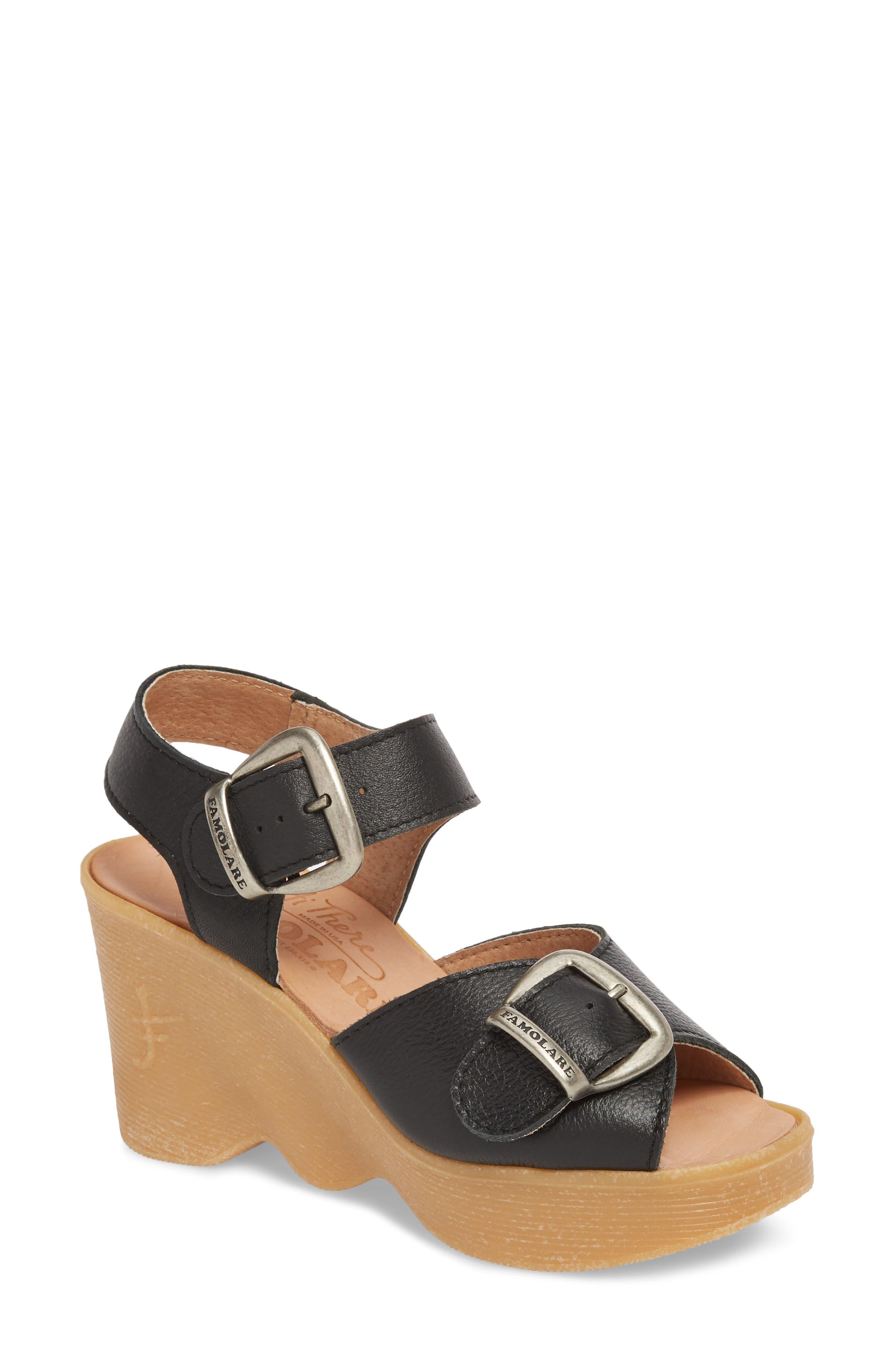 Famolare Double Vision Wedge Sandal (Women)