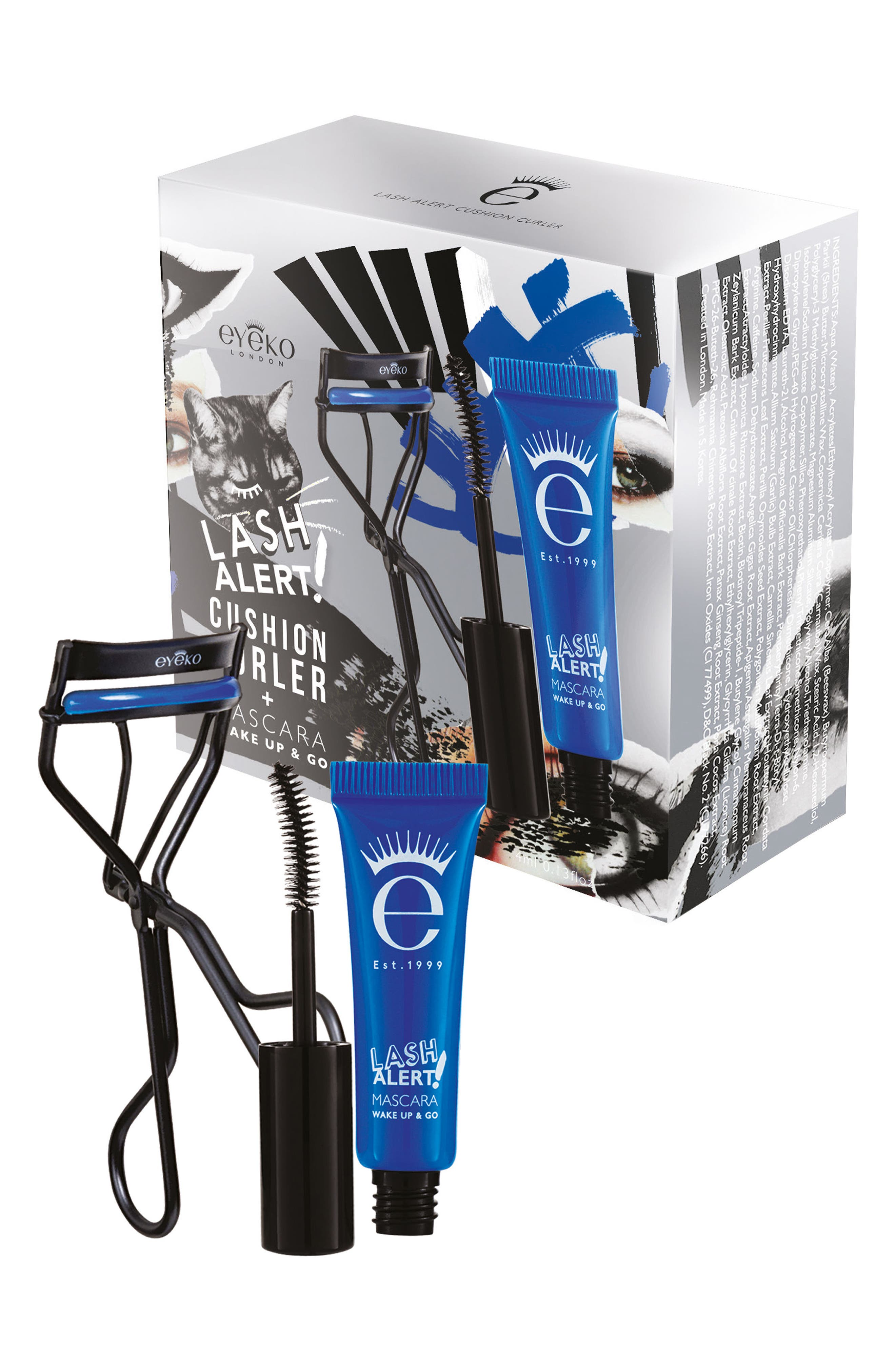 Eyeko Lash Alert Mascara & Cushion Curler Set