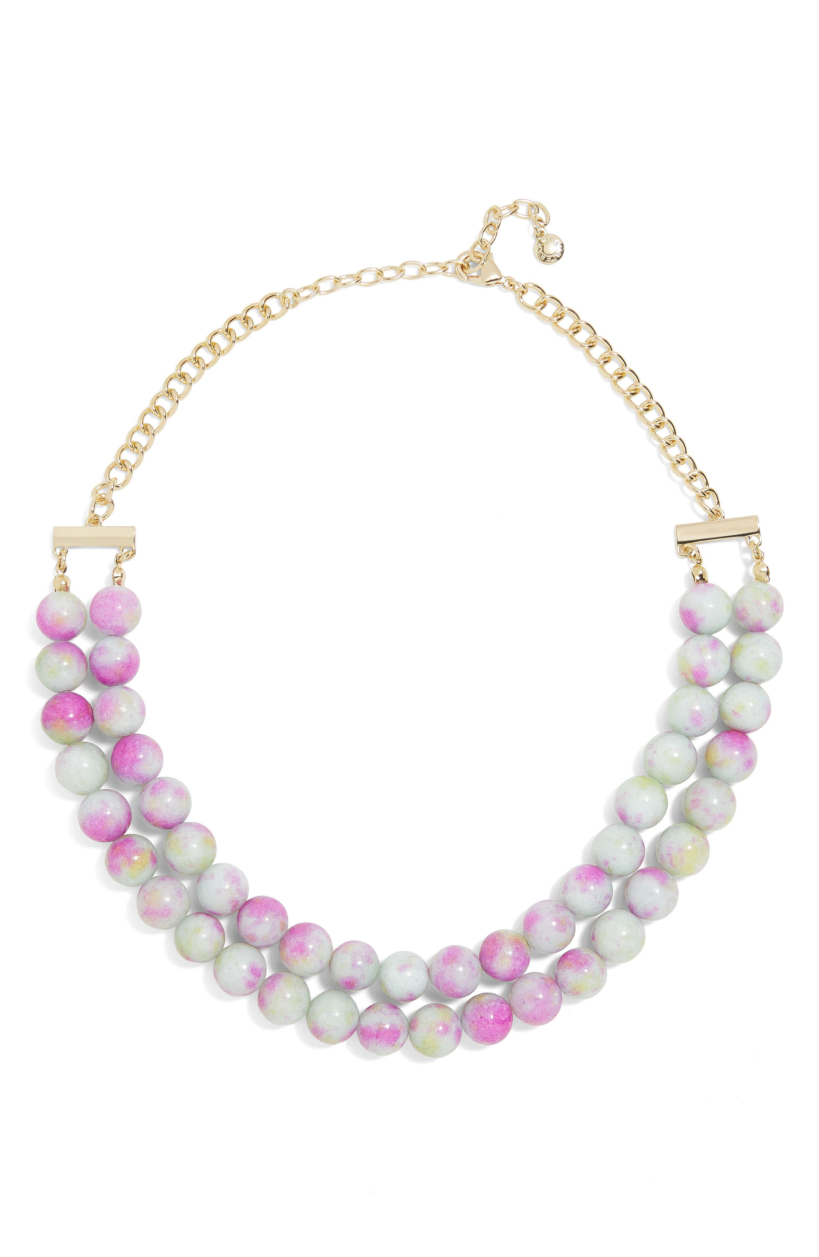 Beverlyn Statement Necklace,                         Main,                         color, Purple