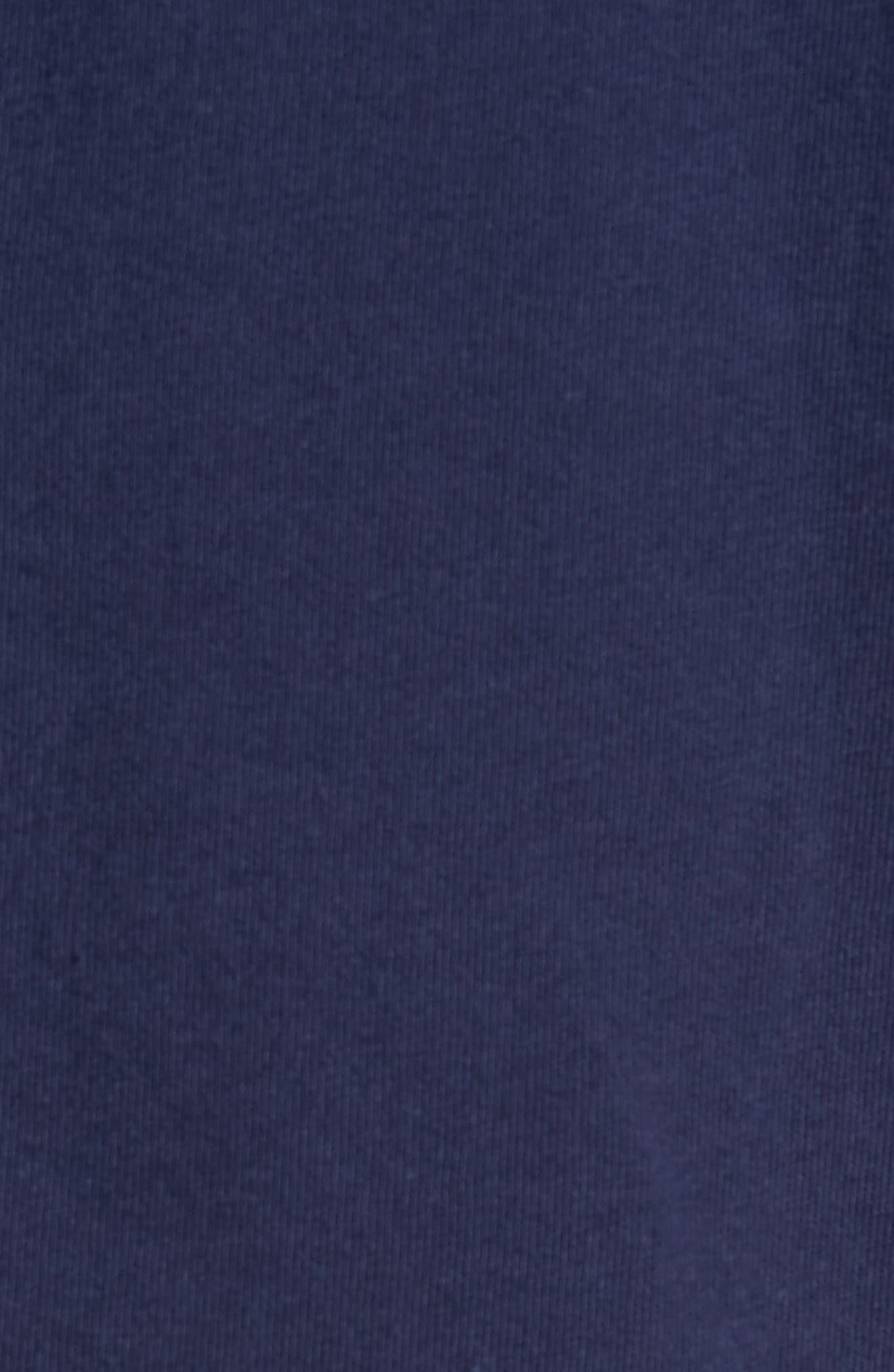 Biella Italia T-Shirt,                             Alternate thumbnail 5, color,                             Navy/ White/ Red
