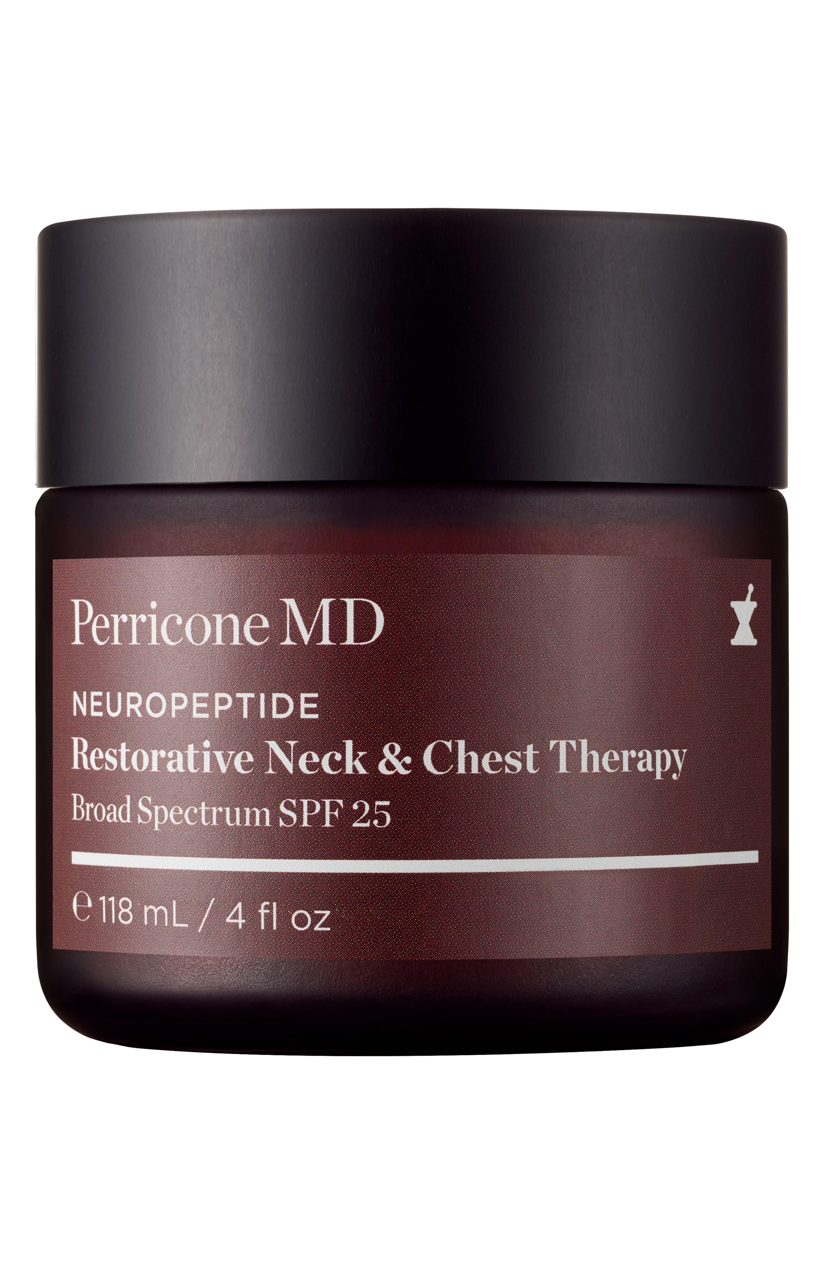 Neuropeptide Restorative Neck & Chest Therapy SPF 25,                         Main,                         color, No Color