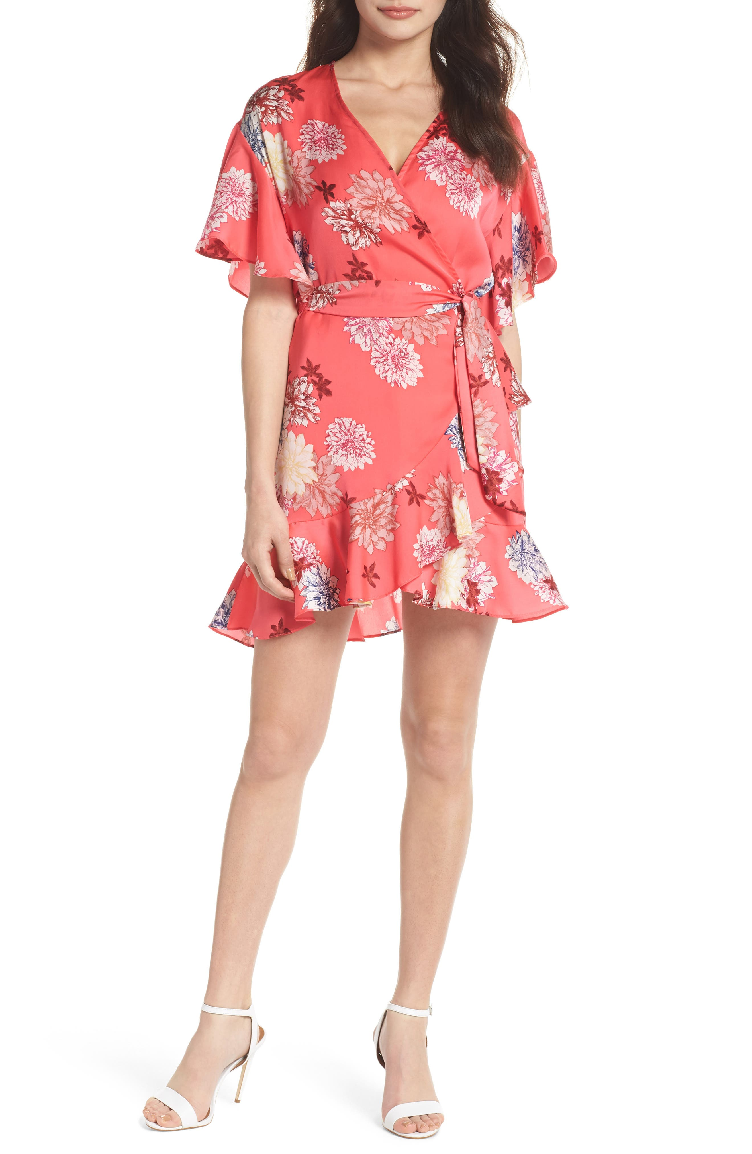 BB Dakota Kirsten Blossom Print Dress