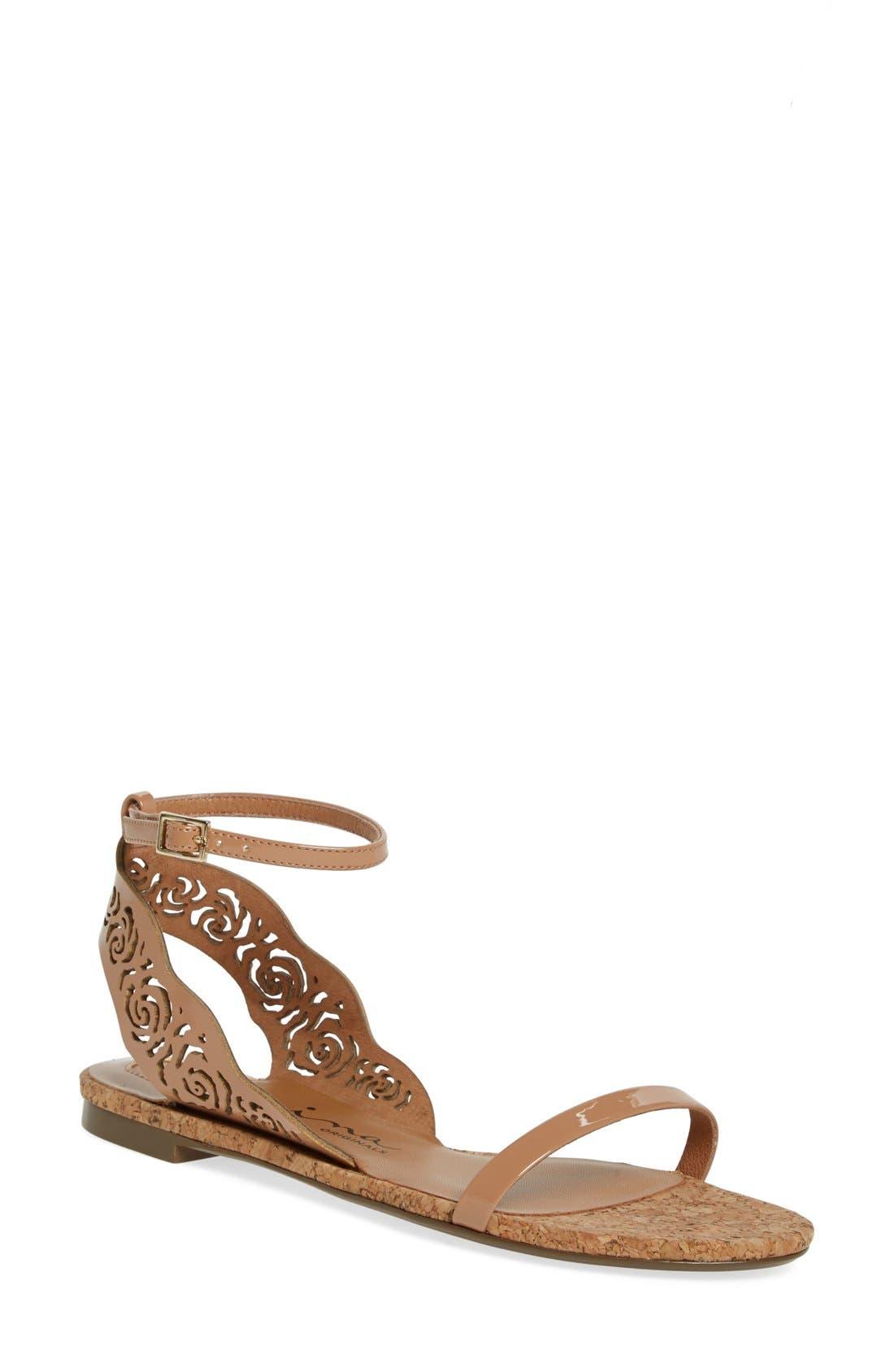 Alternate Image 1 Selected - Nina Originals 'Shiloh' Ankle Strap Sandal (Women)