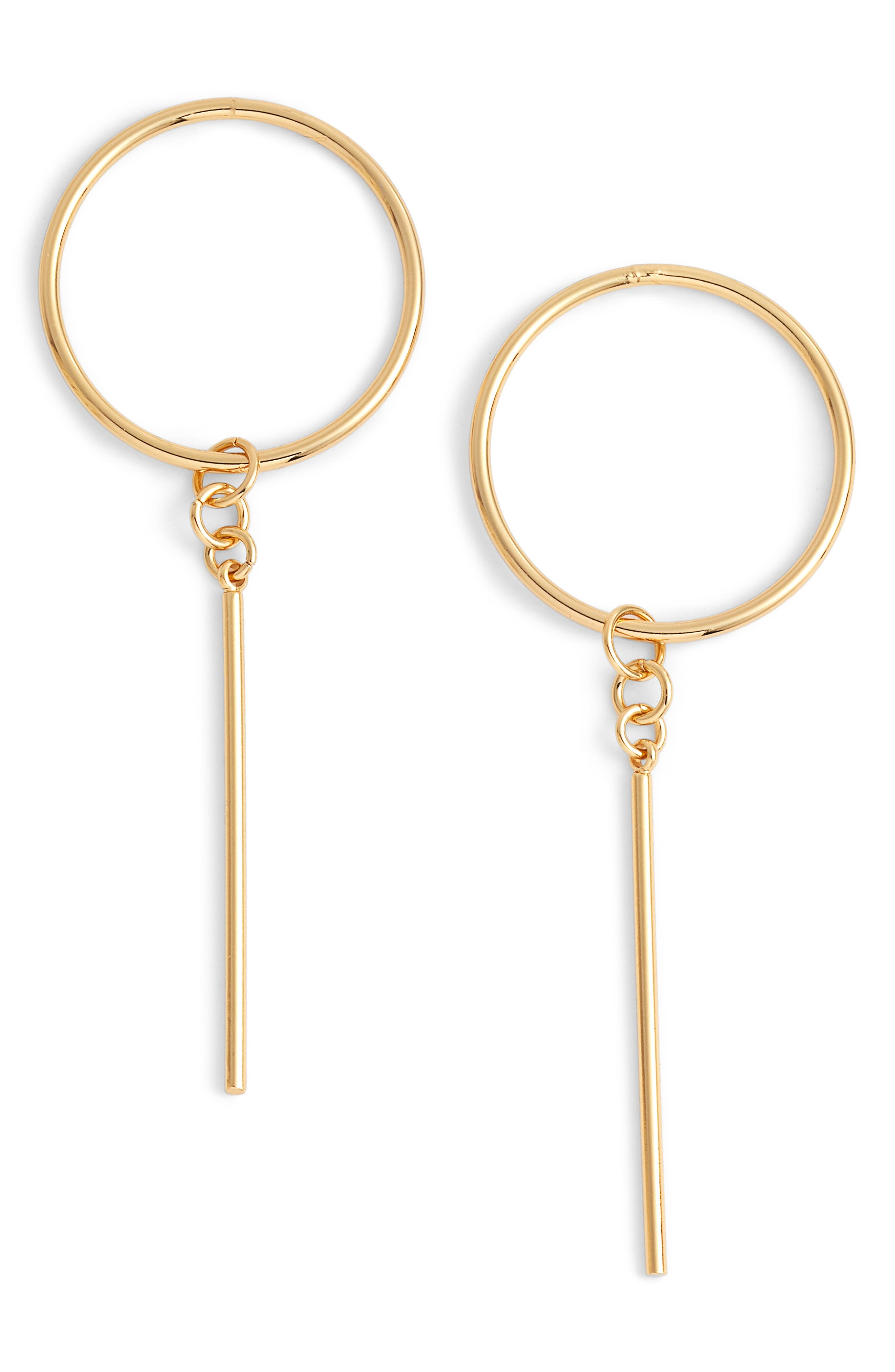 Rhapsody Earrings,                         Main,                         color, Gold