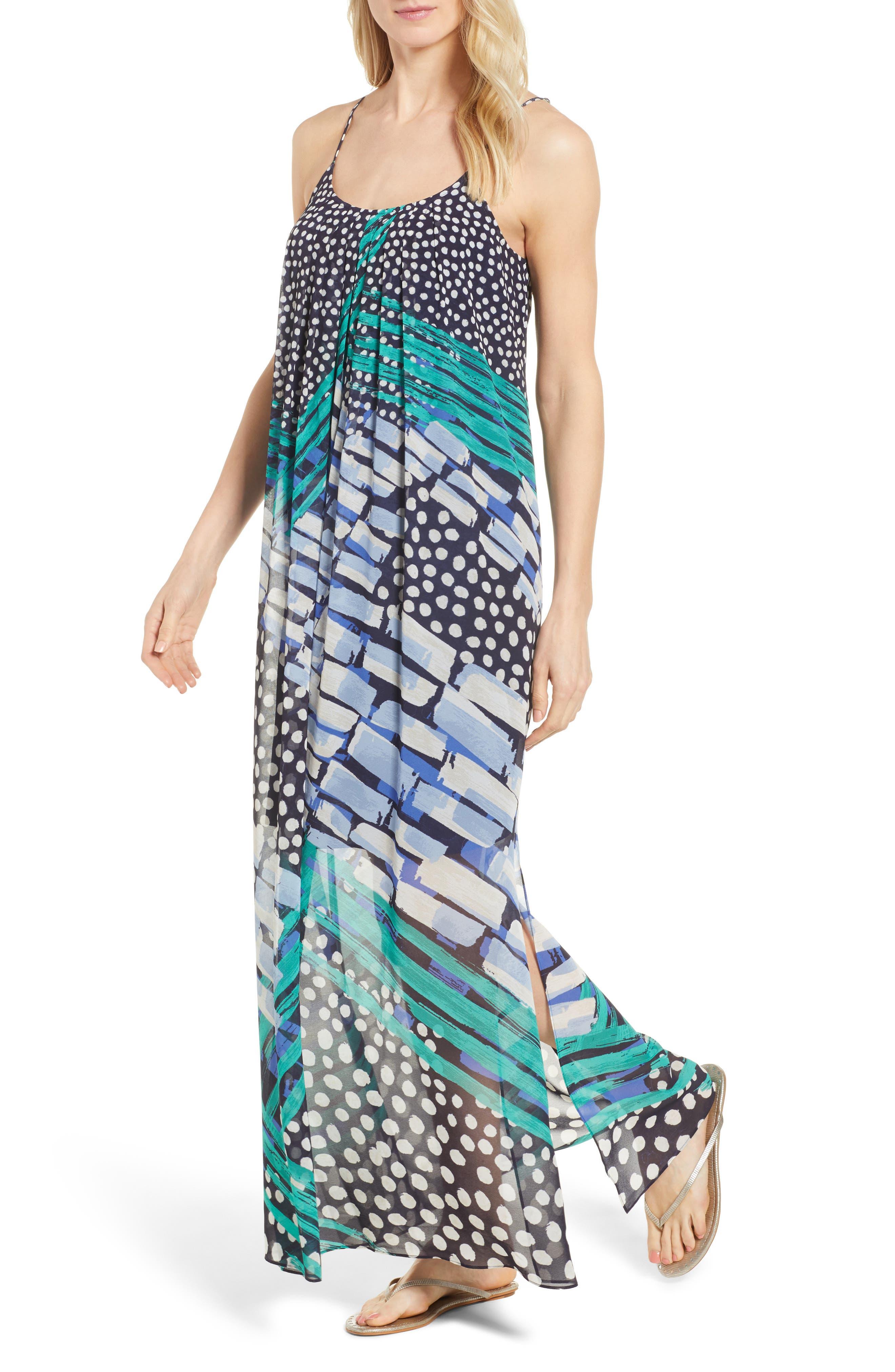 NIC+ZOE Bloom Me away Print Maxi Dress (Regular & Petite)