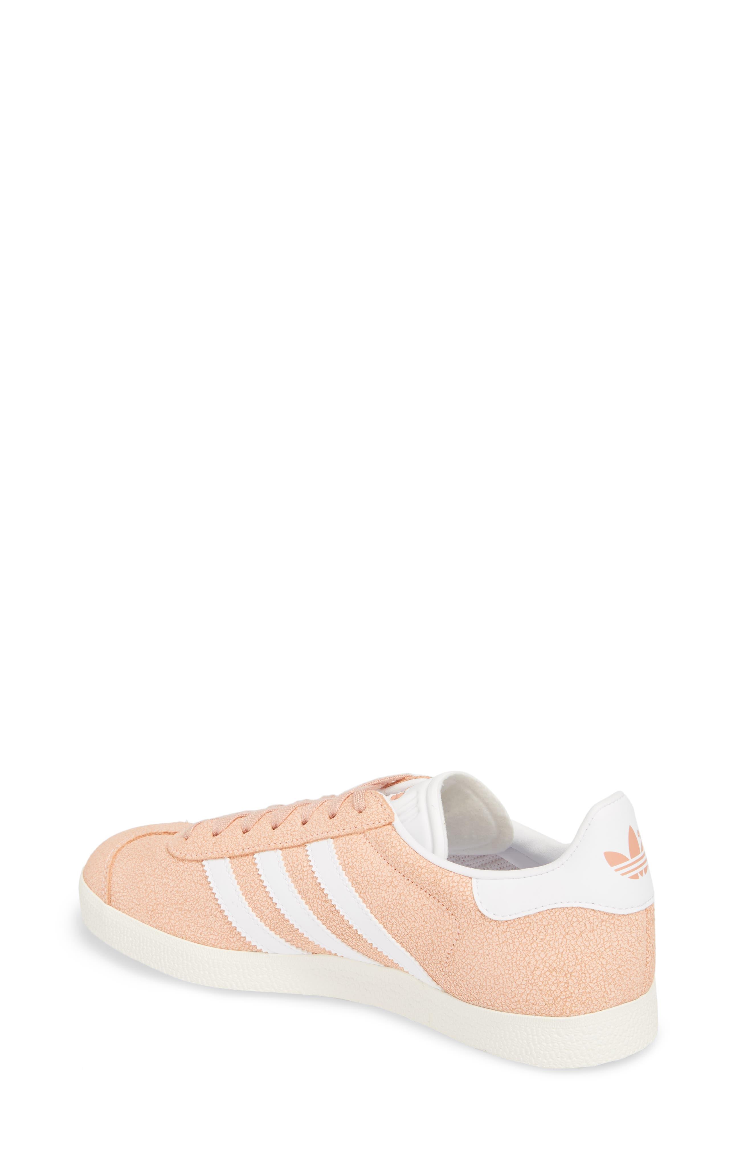 Gazelle Sneaker,                             Alternate thumbnail 2, color,                             Clear Orange/ White/ Off White