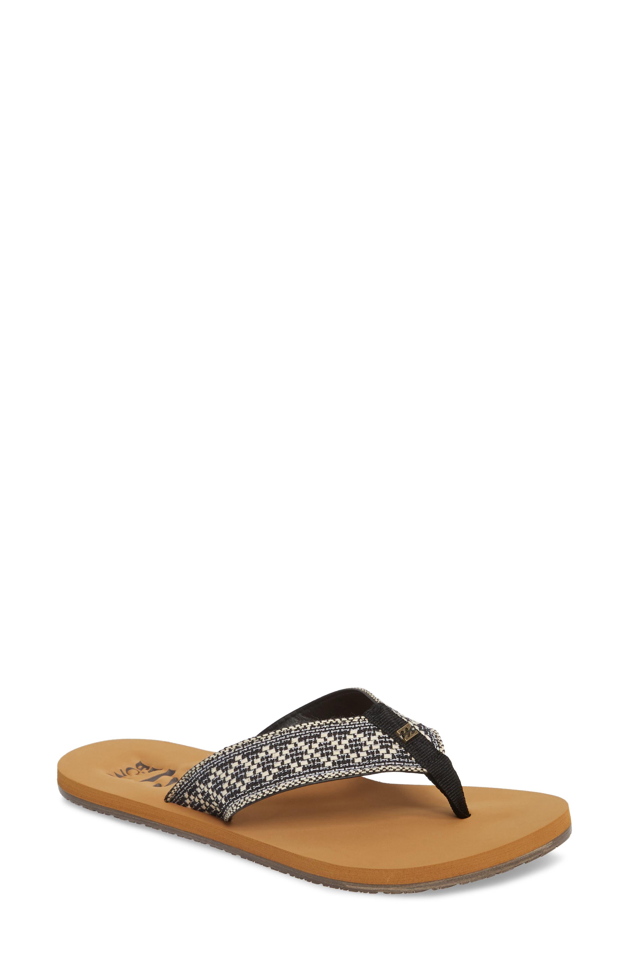 Baja Flip Flop,                         Main,                         color, Cool Grey