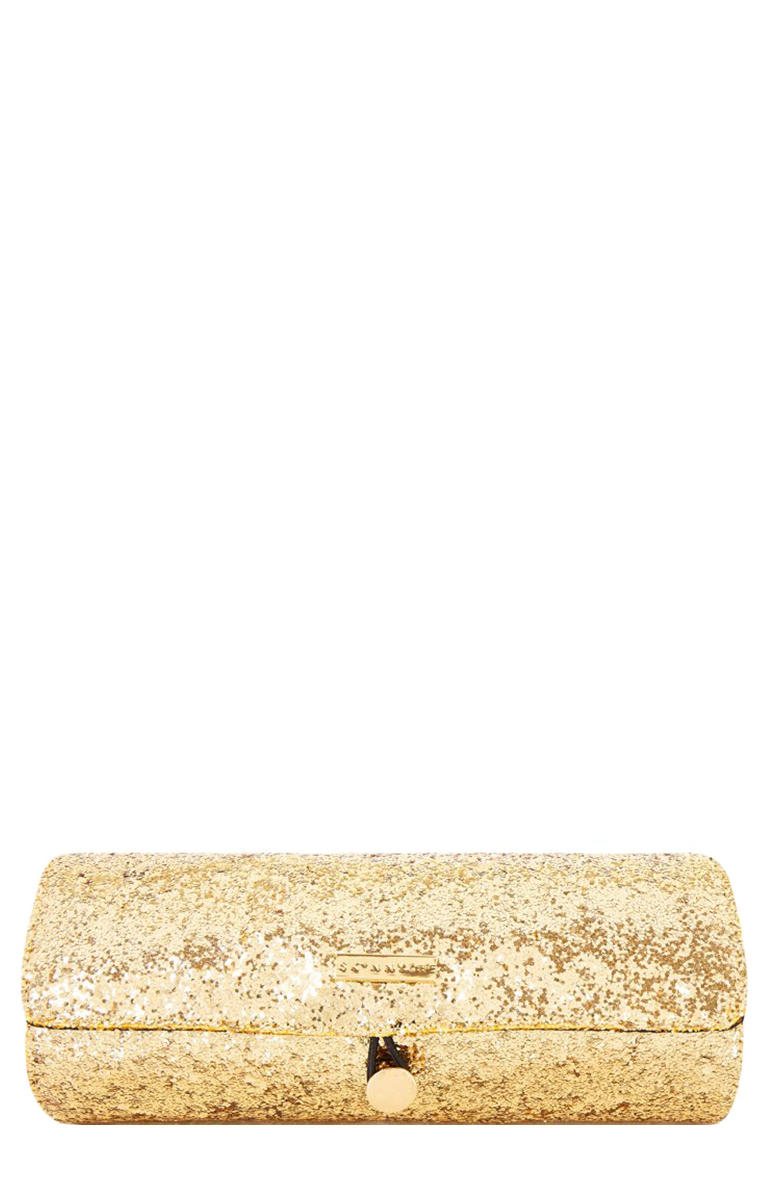 Skinny Dip Glitter Brush Roll