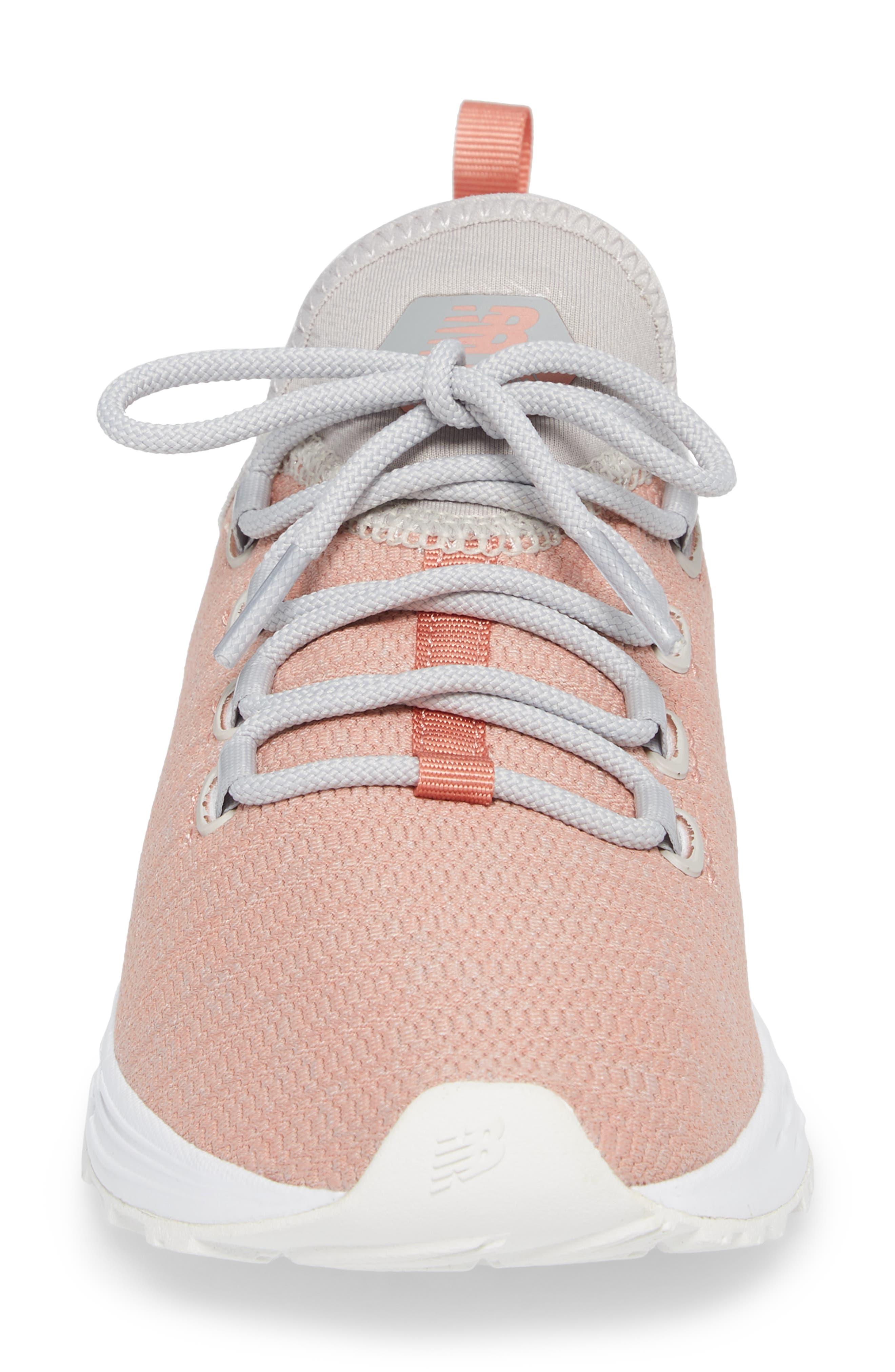 Fresh Foam Arishi Running Shoe,                             Alternate thumbnail 4, color,                             Dusted Peach