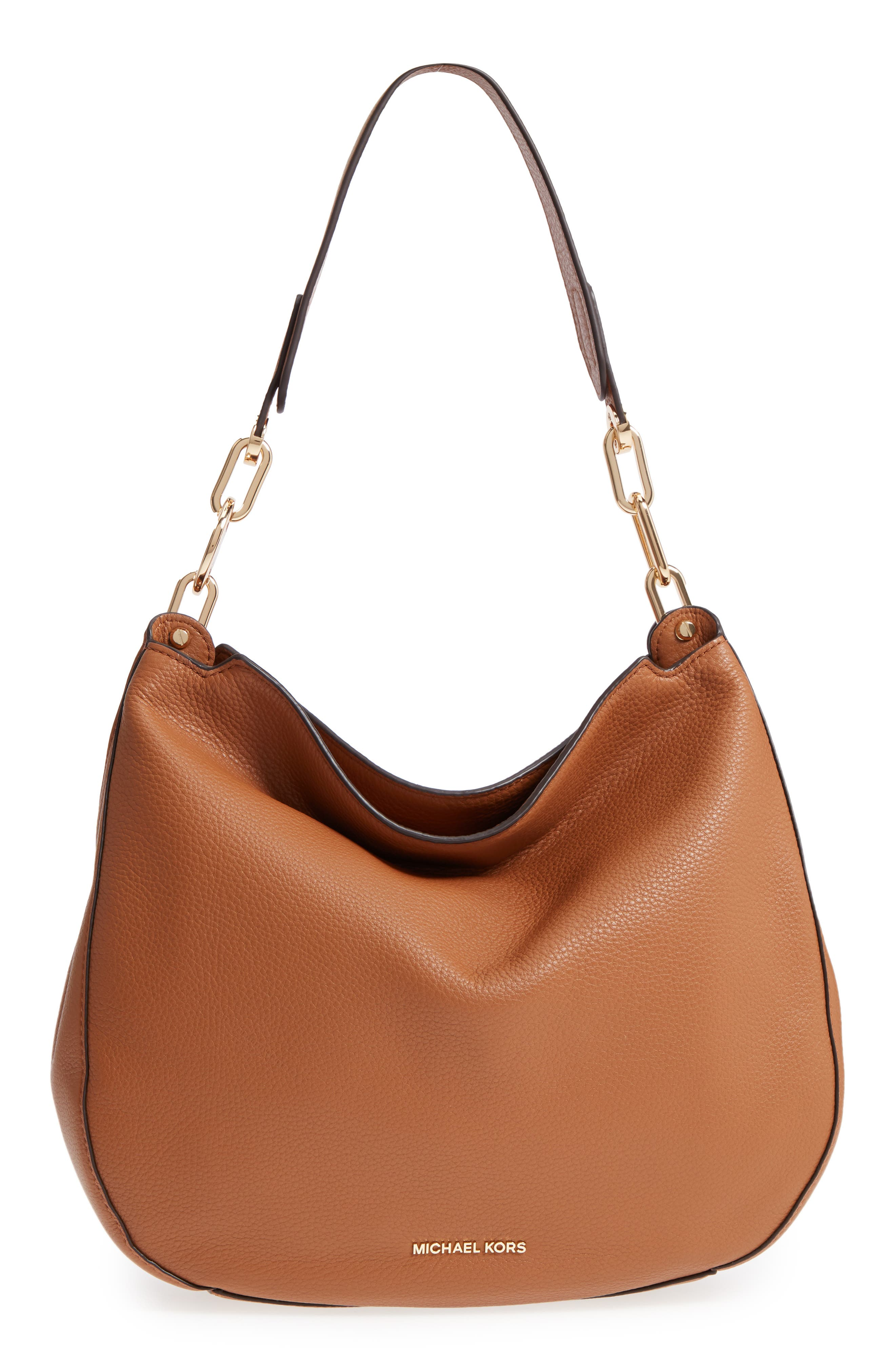 Michael Kors Fulton Leather Hobo