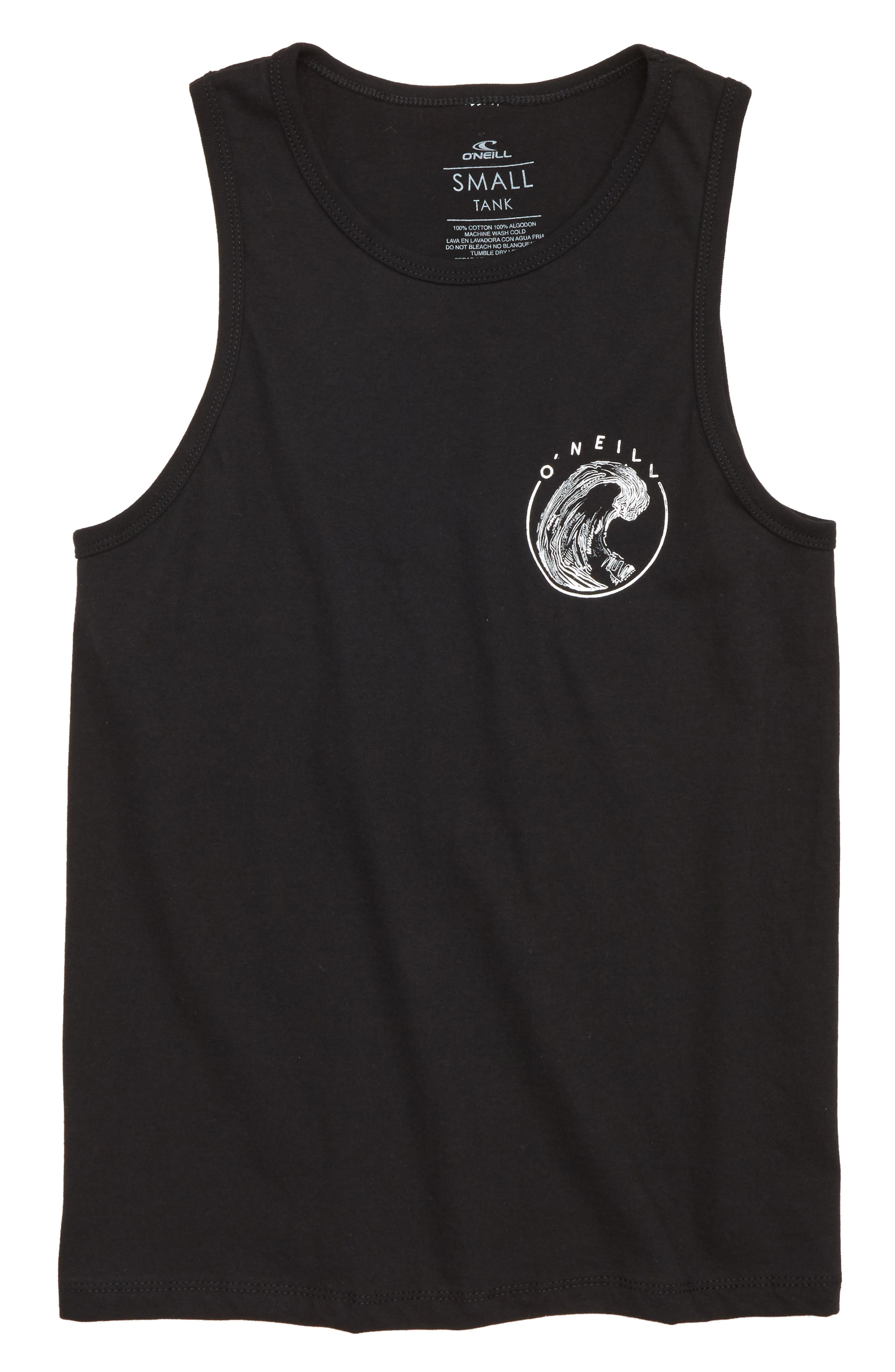 North Point Graphic Tank,                         Main,                         color, Black