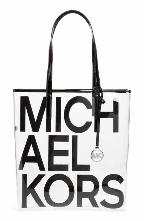 Michael Kors North/South Transparent Tote