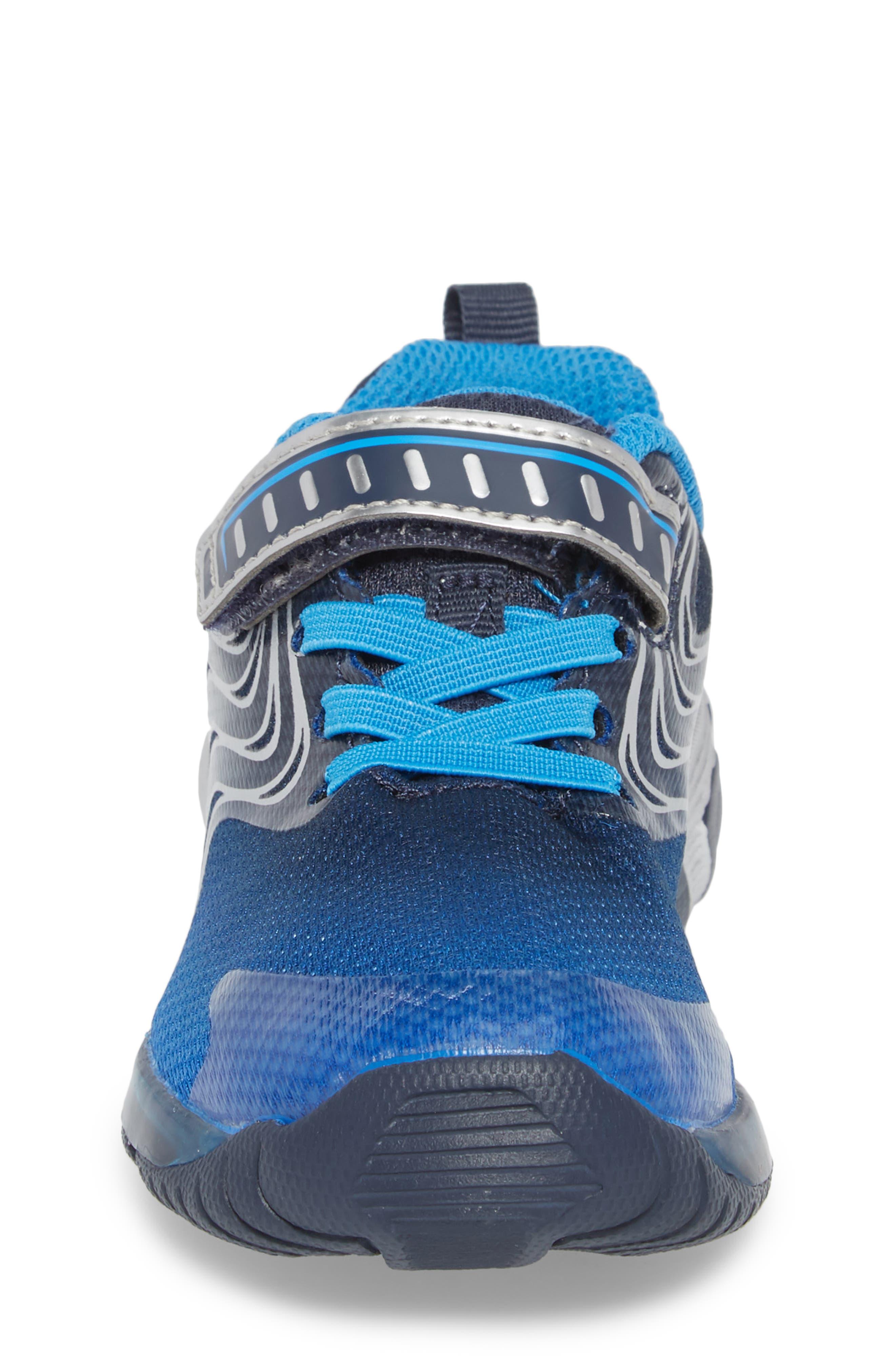 Alternate Image 4  - Stride Rite Lights Lux Light-Up Sneaker (Walker &Toddler)