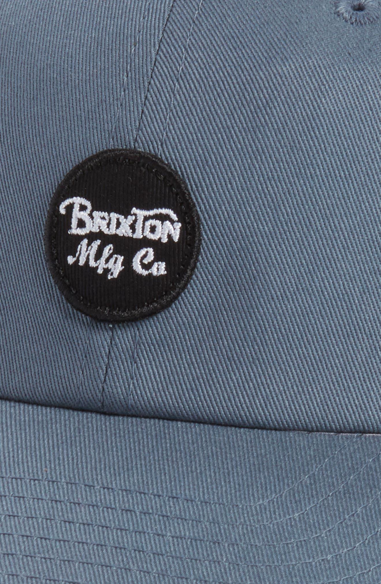 Wheeler Logo Cap,                             Alternate thumbnail 3, color,                             Grey Blue
