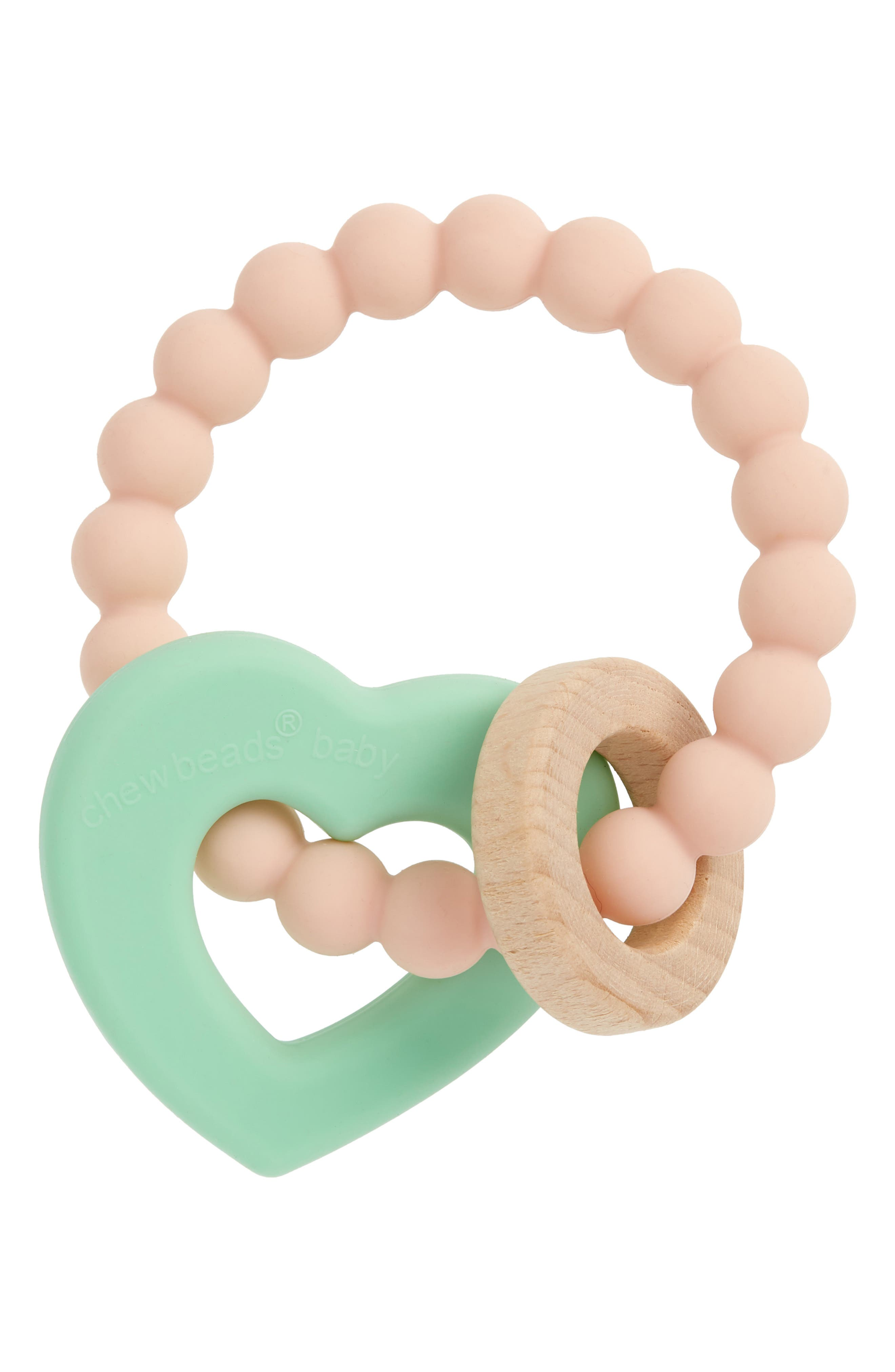 Alternate Image 1 Selected - Chewbeads Baby Brooklyn Teether (Baby)