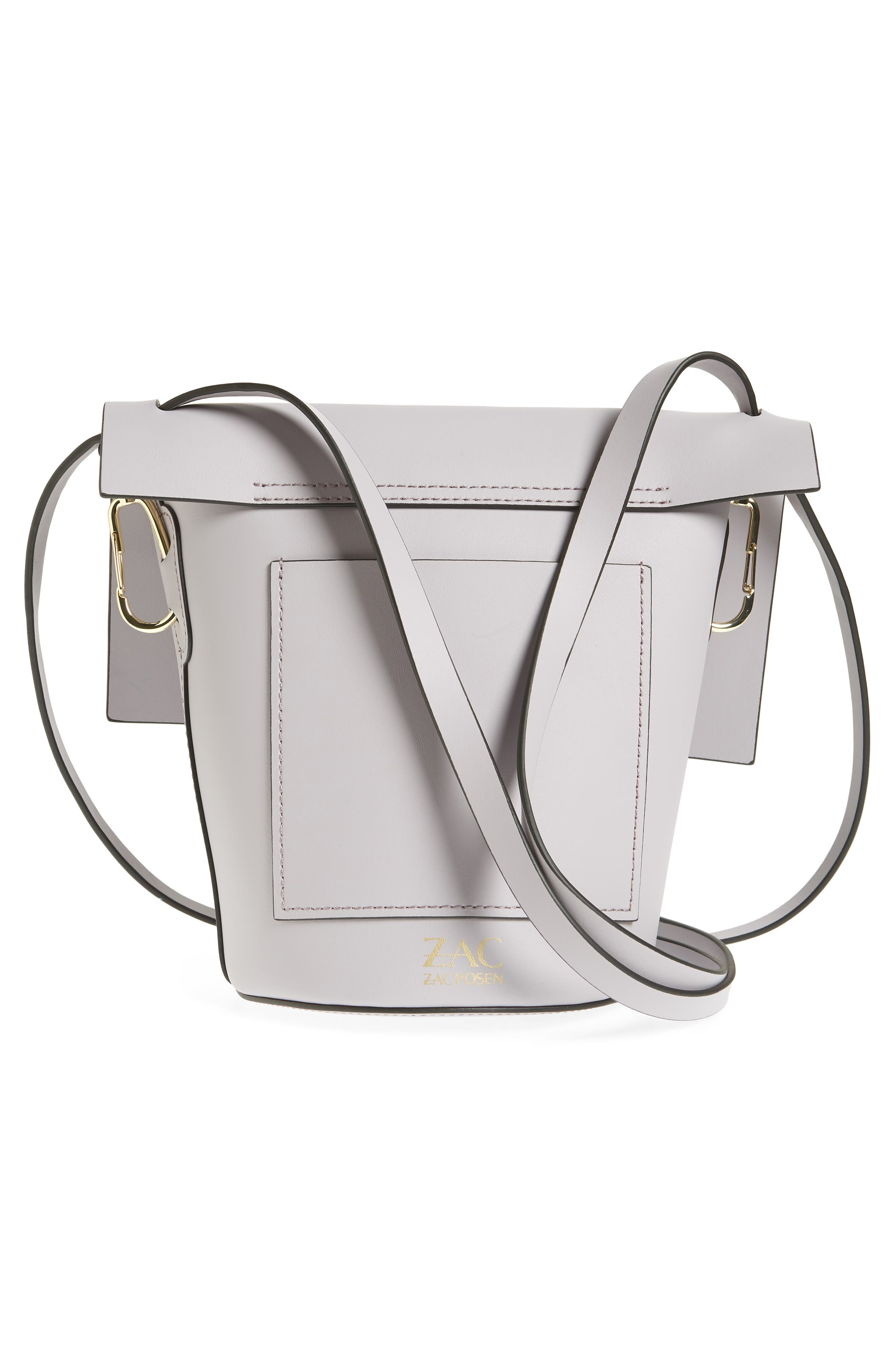 Belay Leather Crossbody Bag,                             Alternate thumbnail 3, color,                             Violet