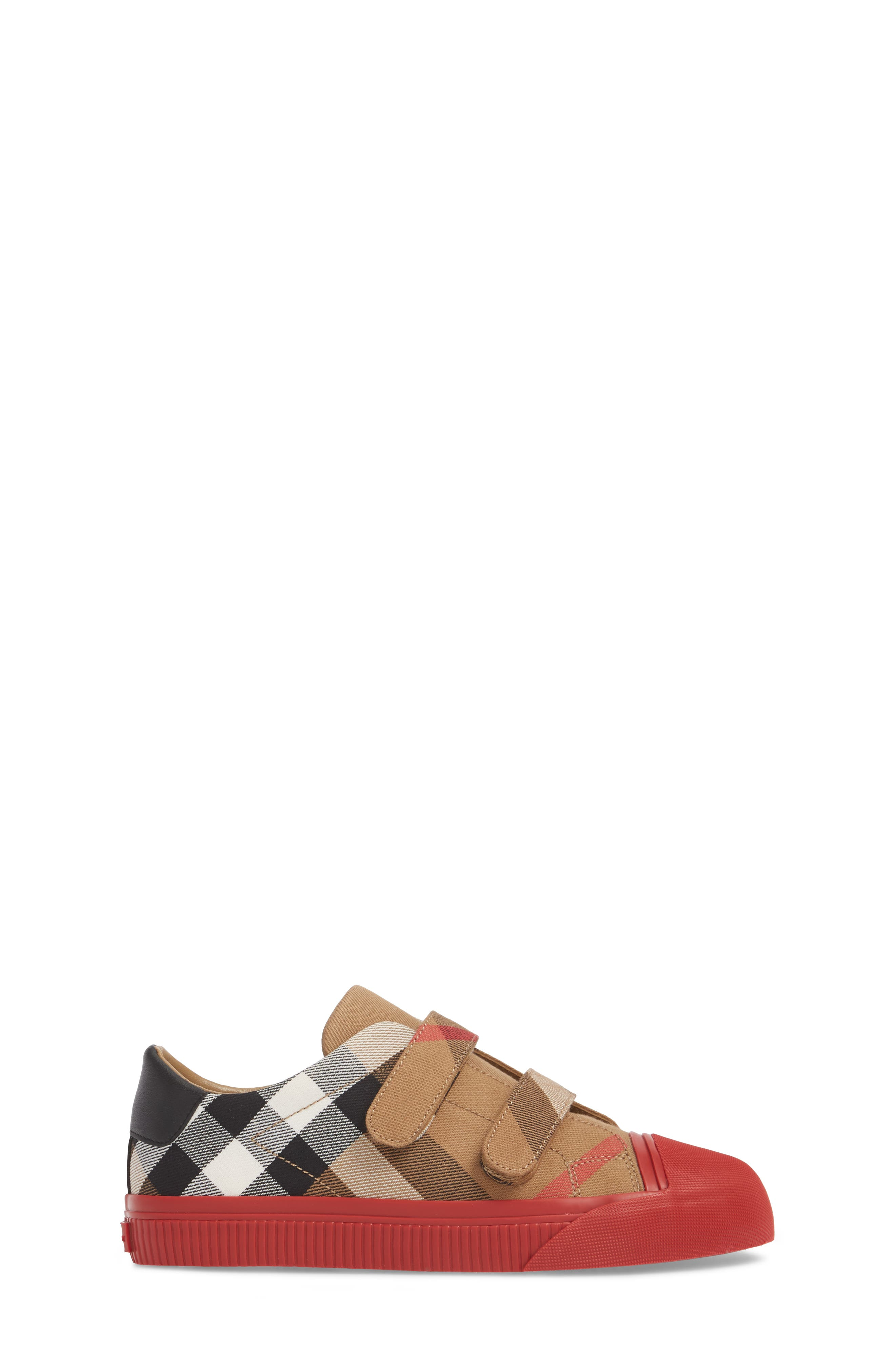 Belside Sneaker,                             Alternate thumbnail 3, color,                             Classic/ Parade Red