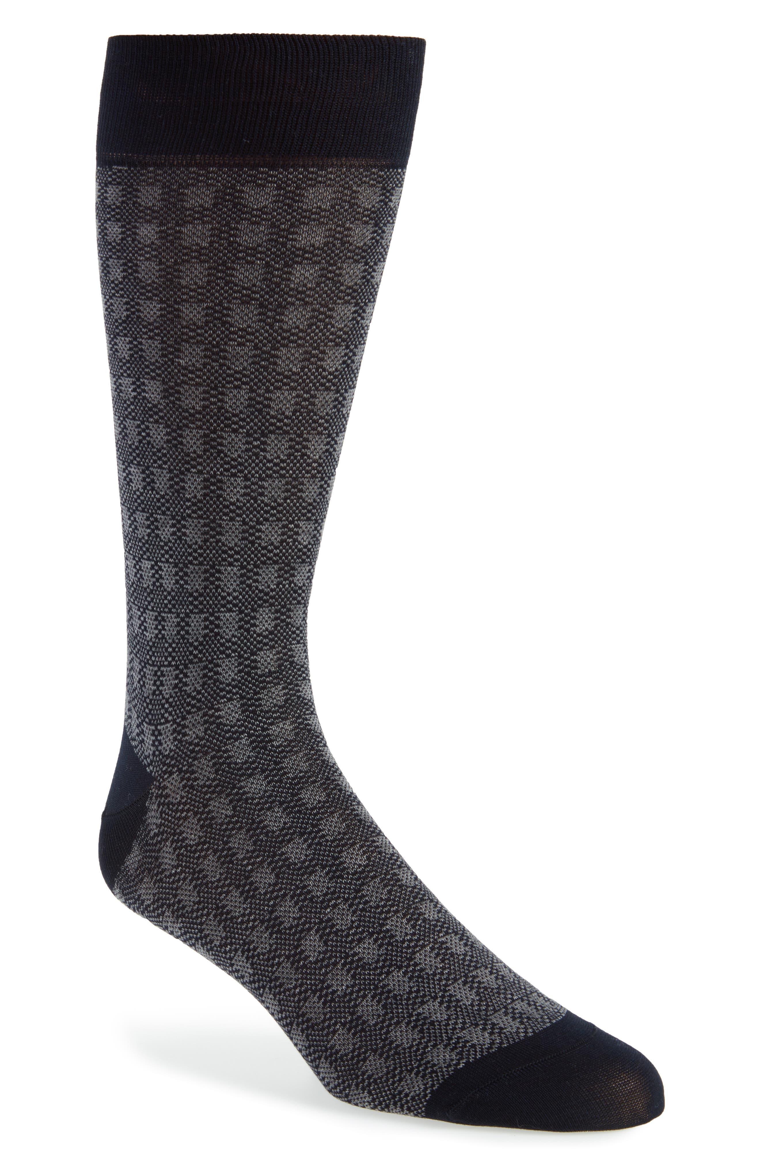 Pantherella Birdseye Crew Socks