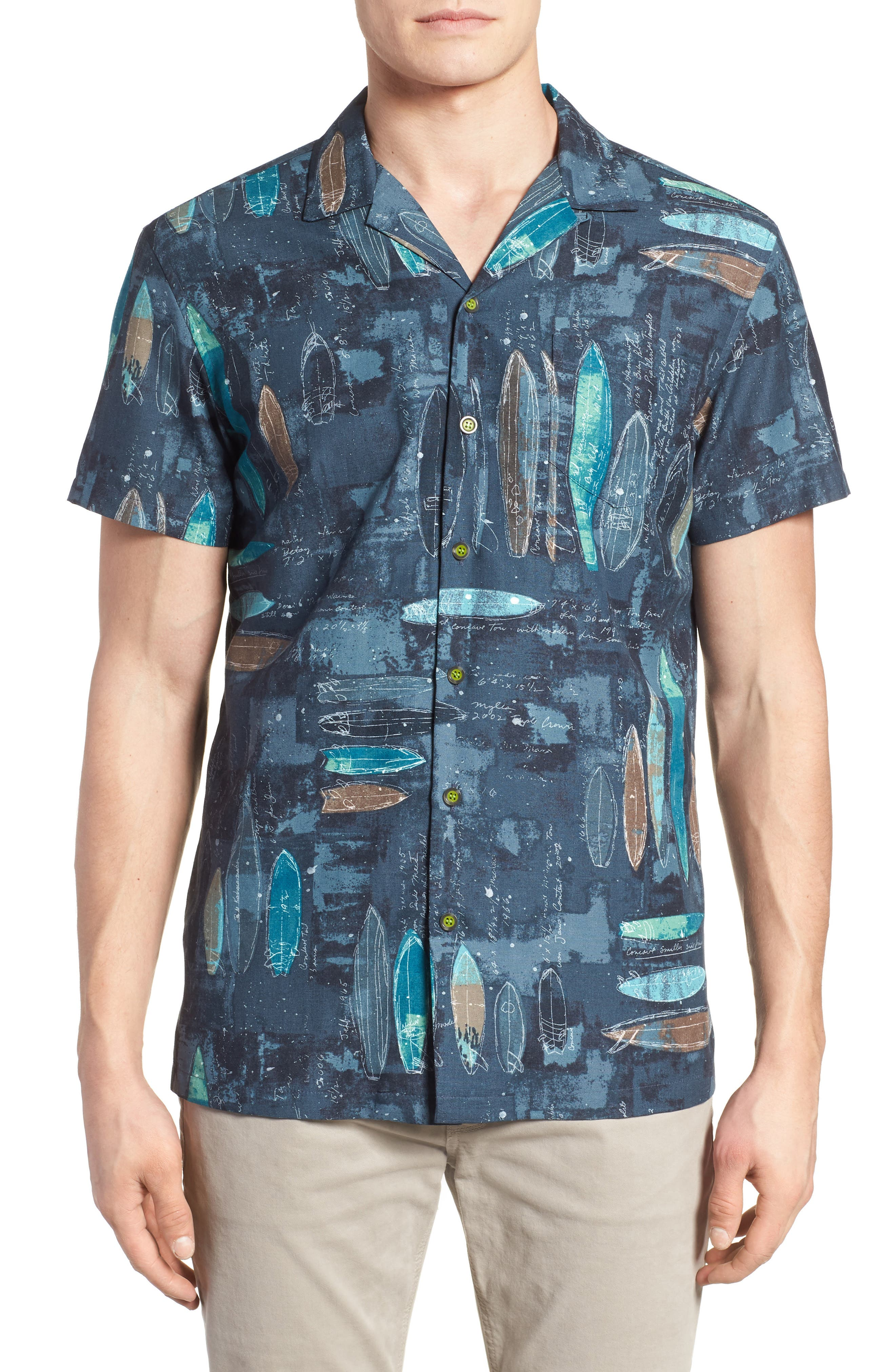 Kahala Shaping Room Regular Fit Camp Shirt