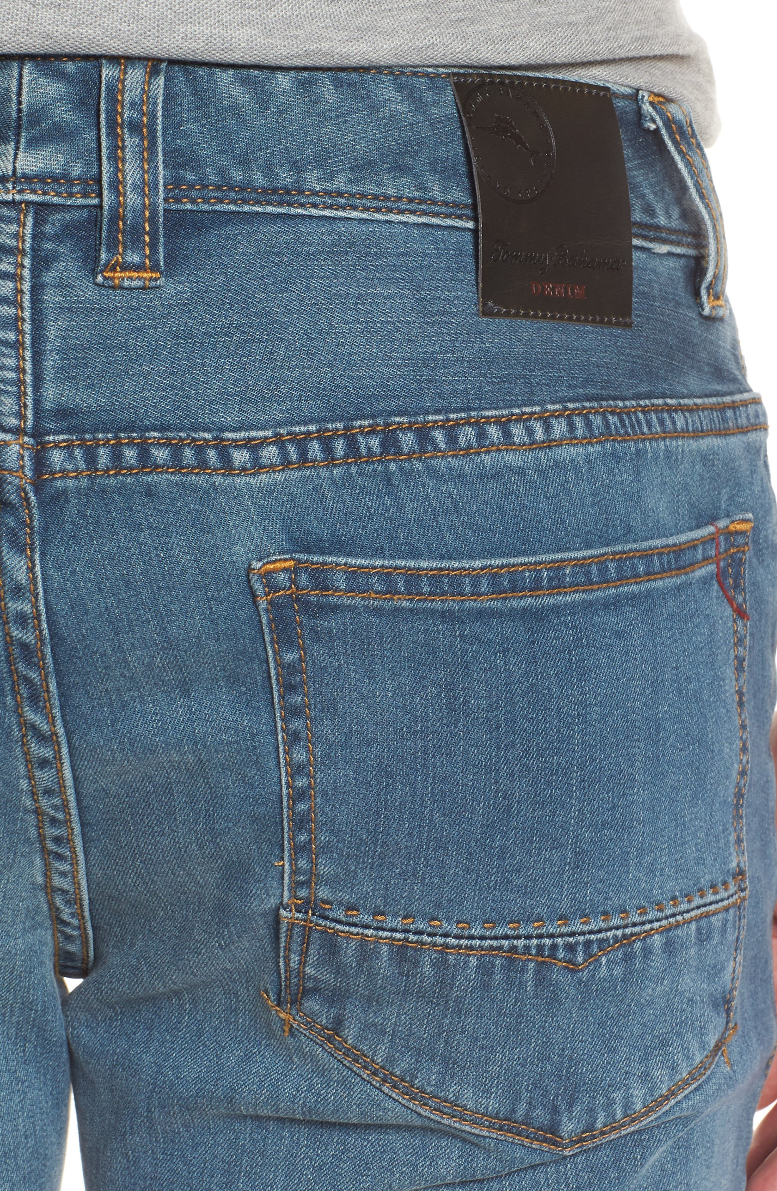 Vintage Fit Jeans,                             Alternate thumbnail 4, color,                             Vintage Wash