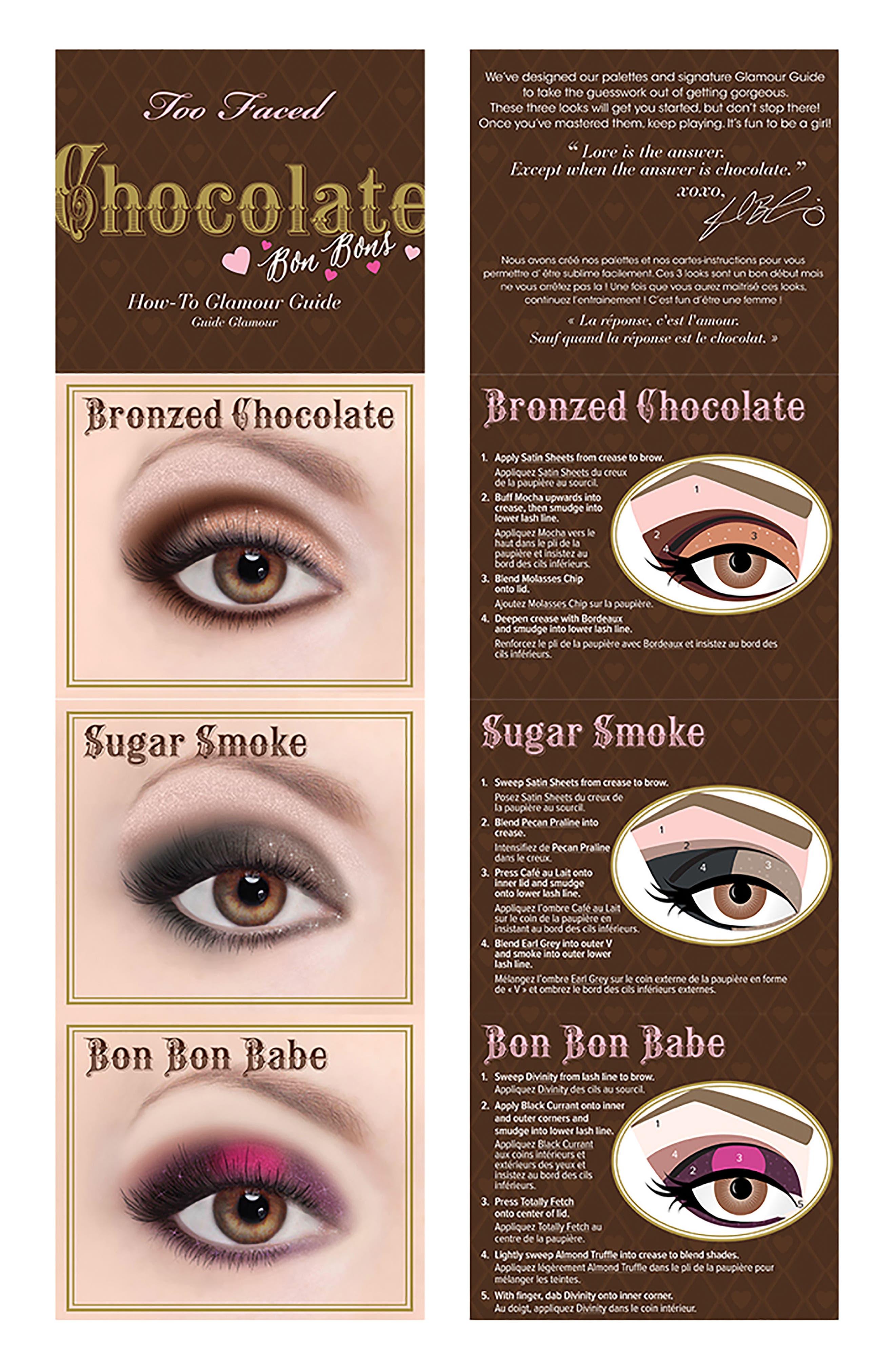 Chocolate Bon Bons Eyeshadow Palette,                             Alternate thumbnail 2, color,                             No Color