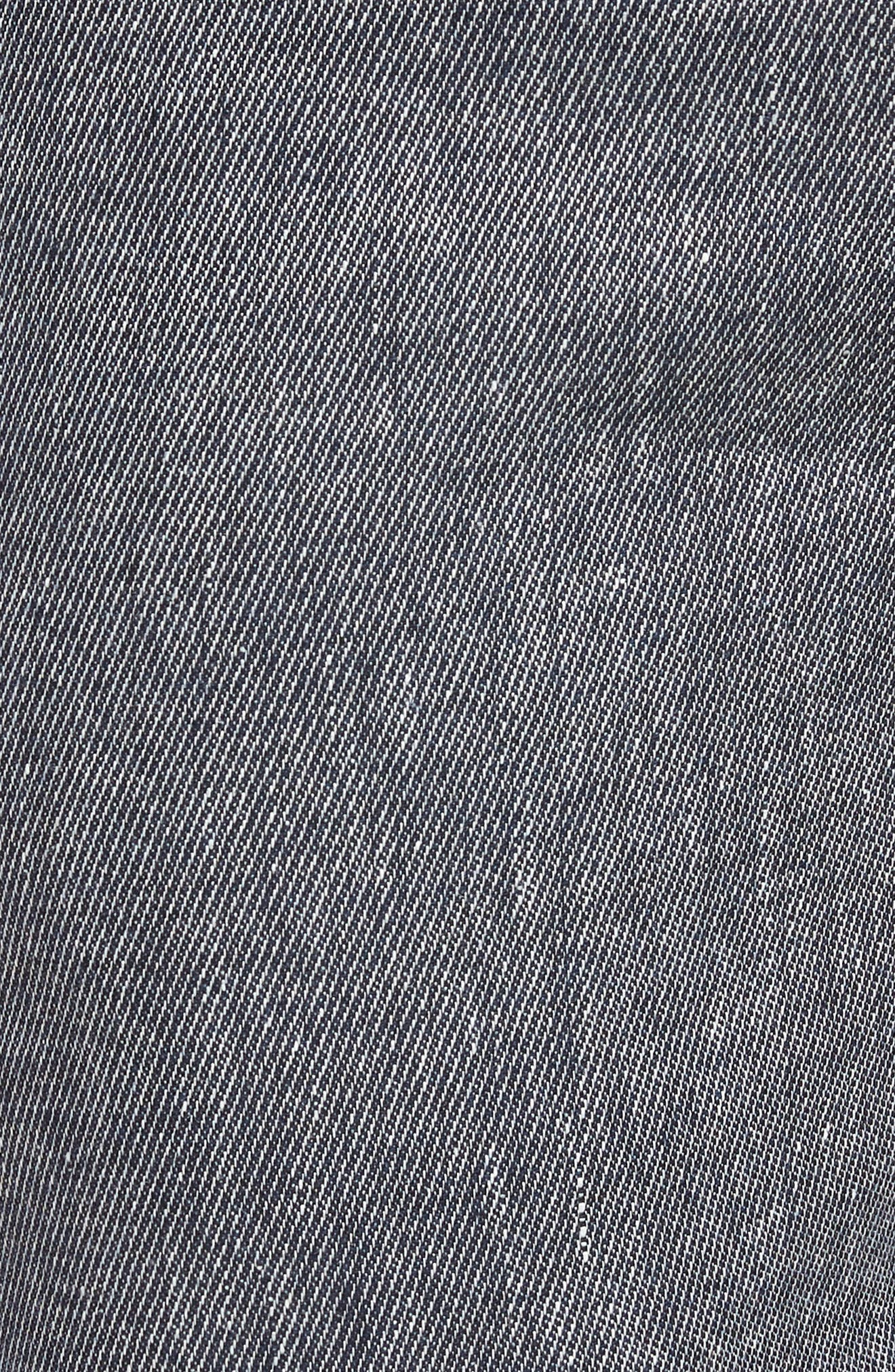 Clifrot Trim Fit Trousers,                             Alternate thumbnail 5, color,                             Blue