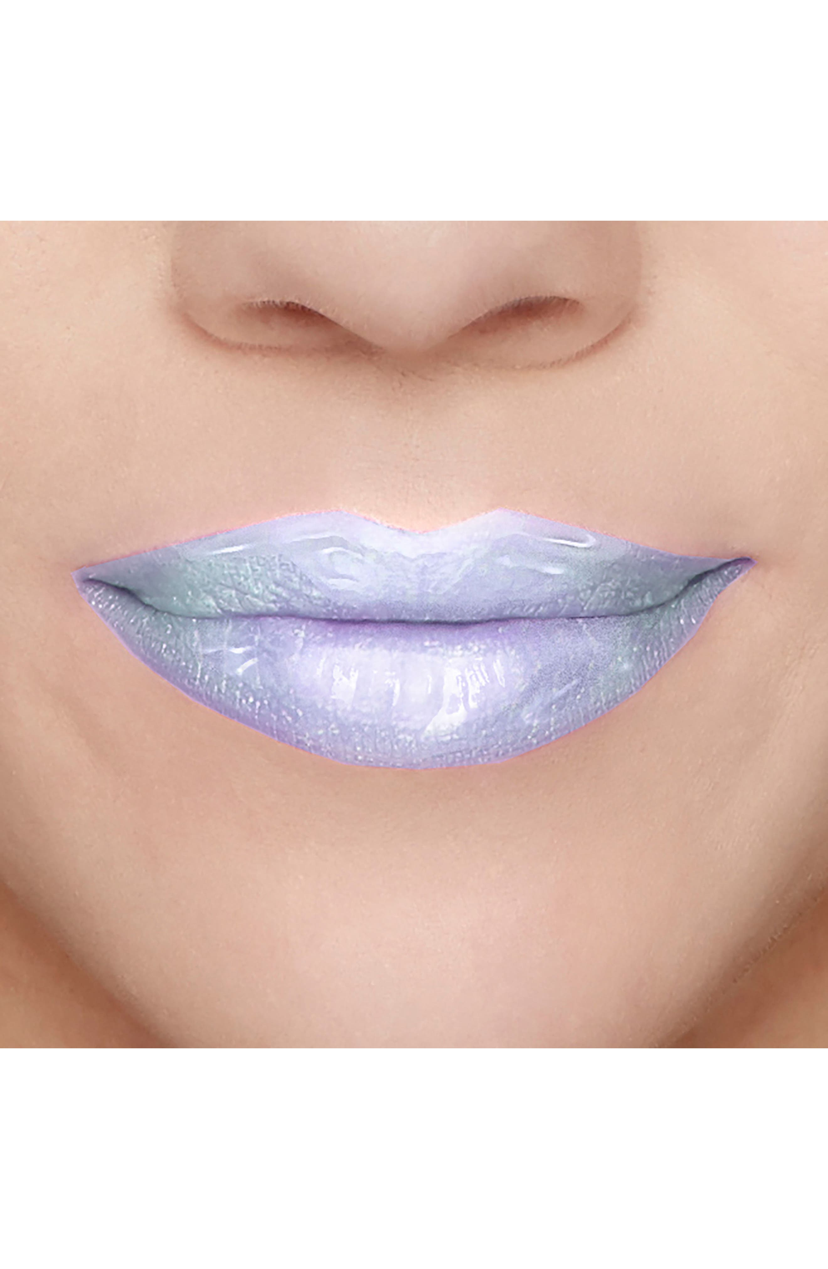 Melted Latex Unicorn Tears Lipstick,                             Alternate thumbnail 4, color,