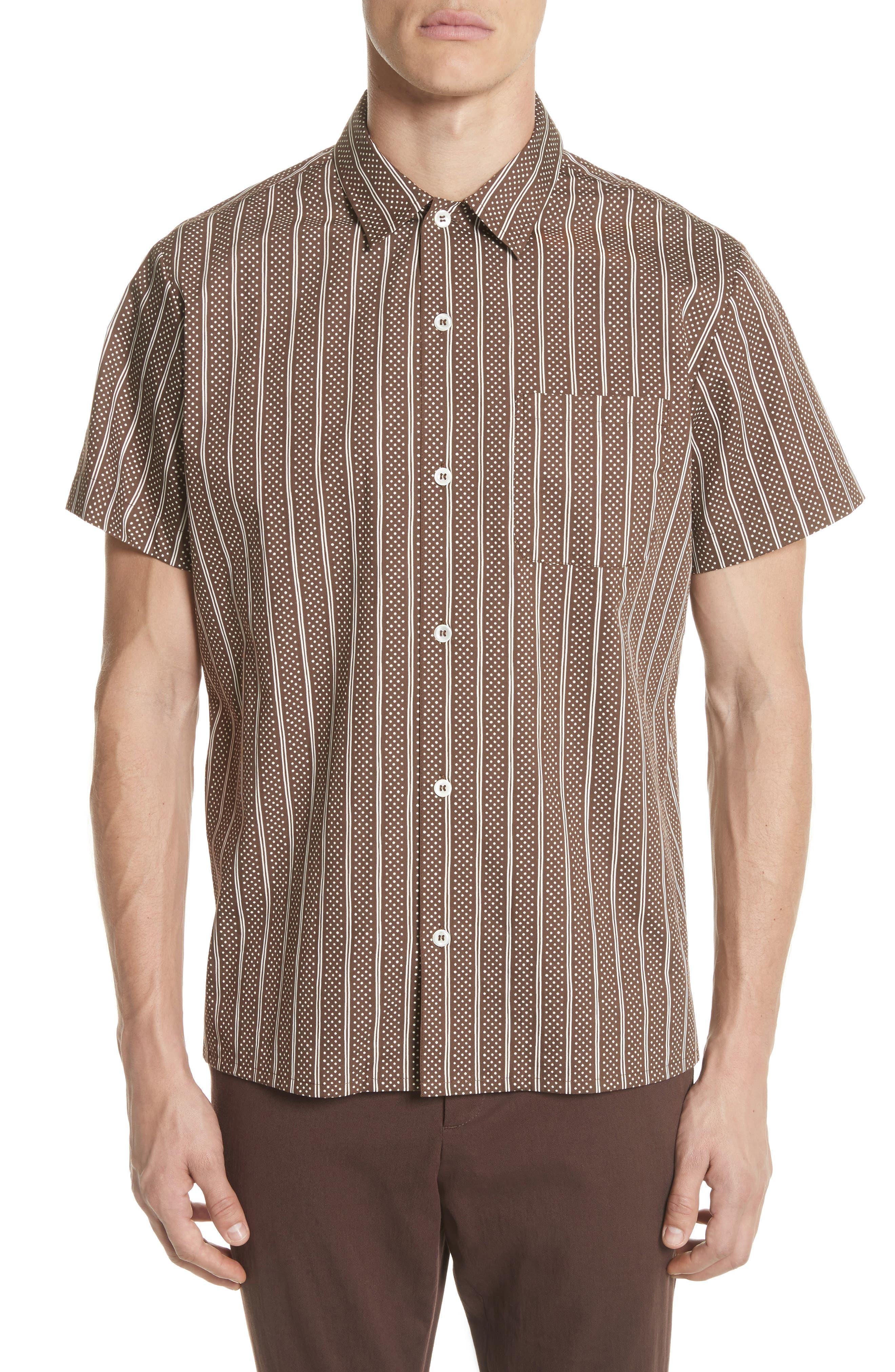 Wonder Sport Shirt,                         Main,                         color, Marron
