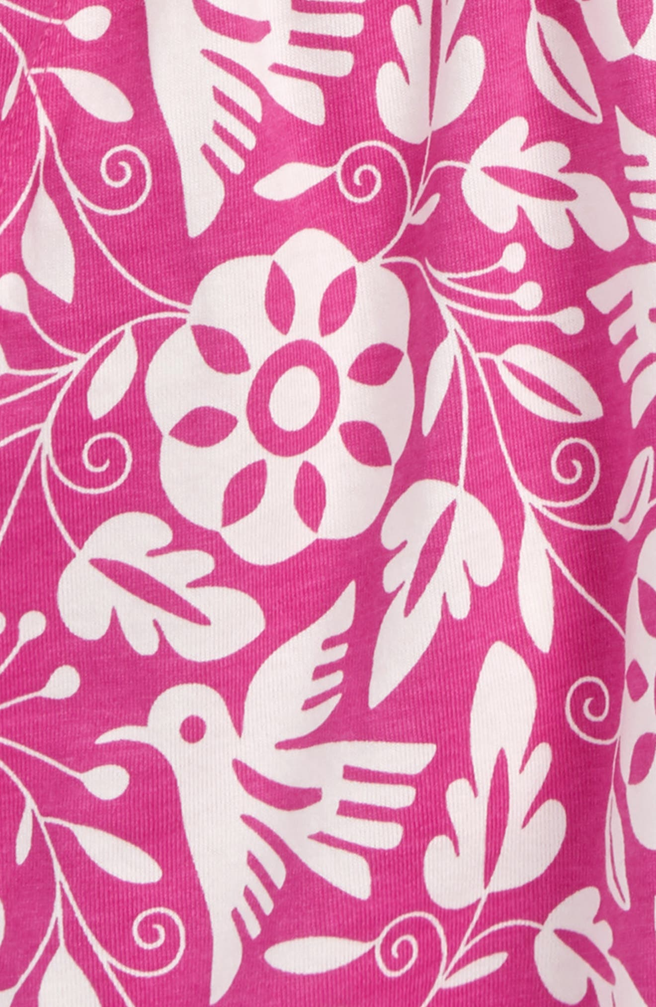 Alternate Image 2  - Tea Collection Hawaiian Knit Romper (Toddler Girls, Little Girls & Big Girls)