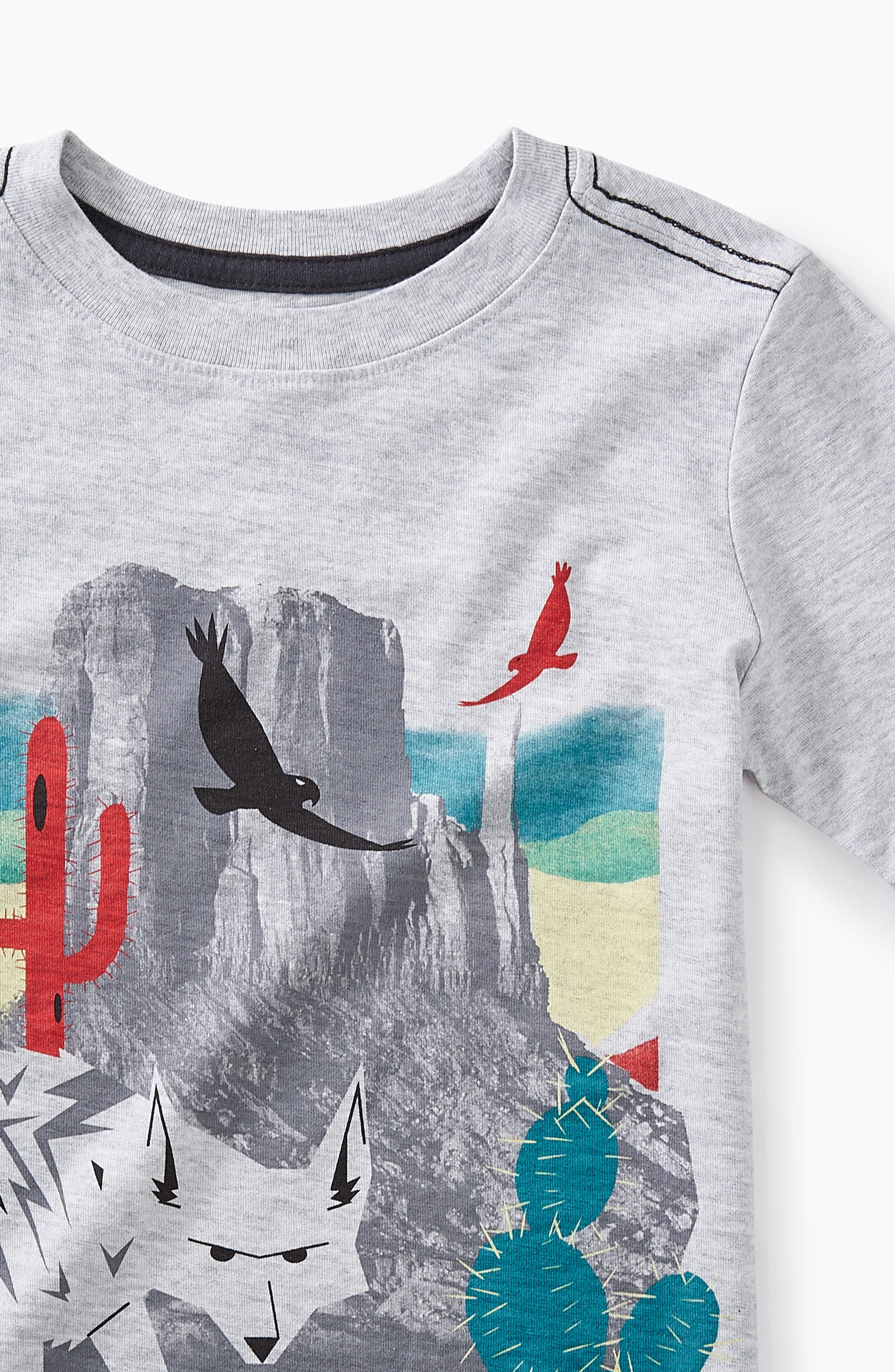Canyon Lands Graphic T-Shirt,                             Alternate thumbnail 2, color,                             Light Grey Heather