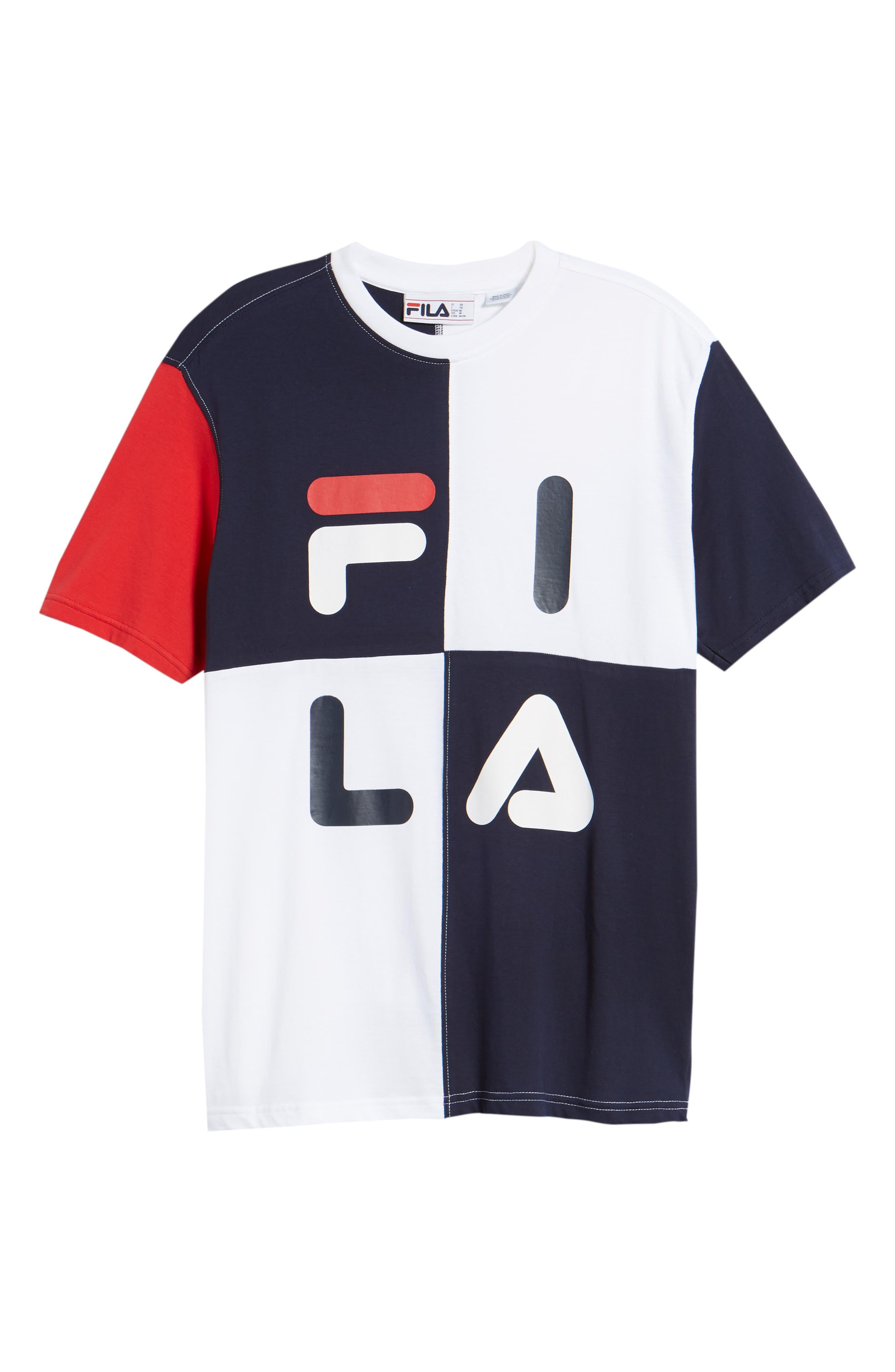 FILA Maddox Colorblock T-Shirt