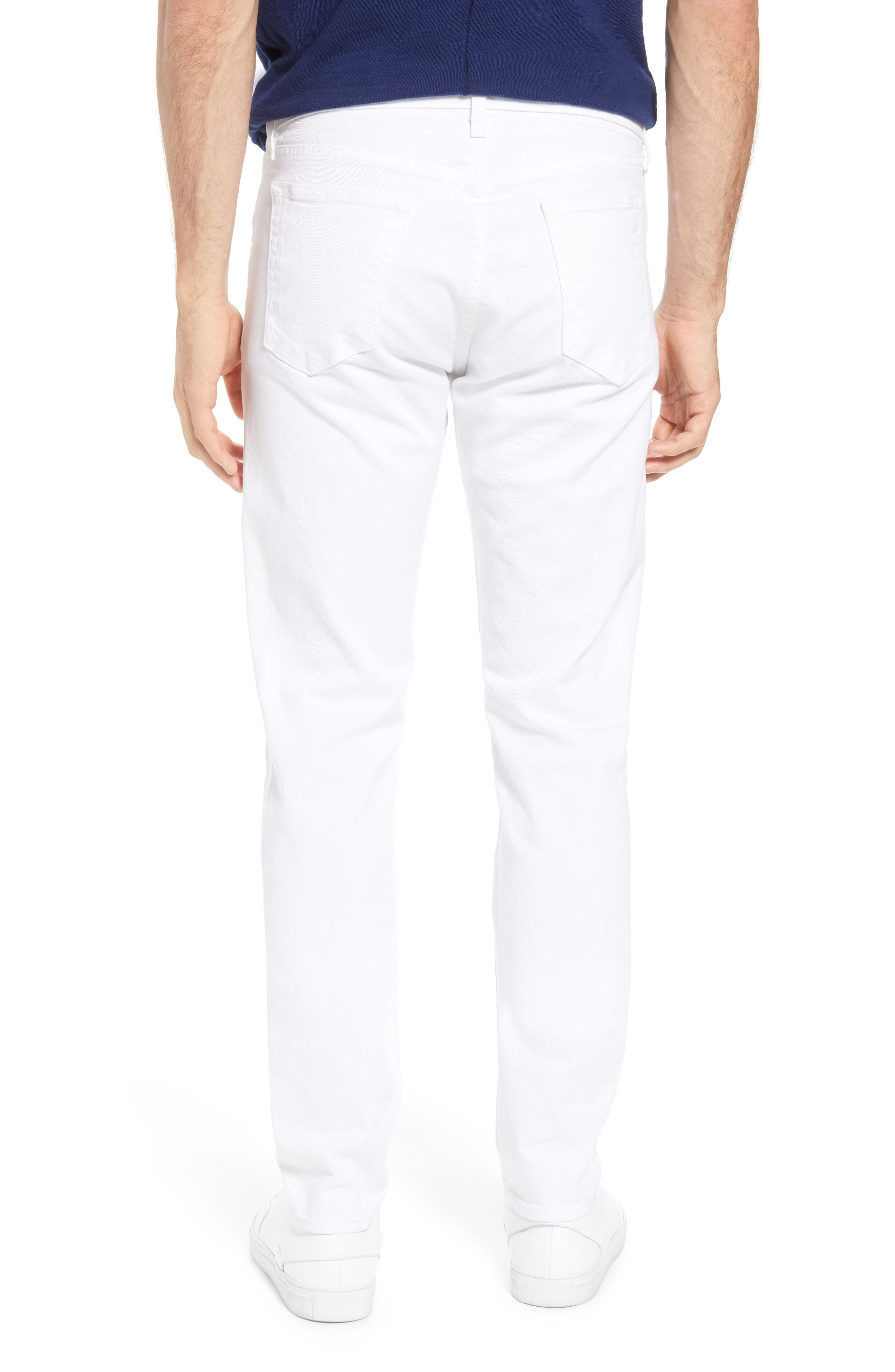 Fit 2 Slim Fit Jeans,                             Alternate thumbnail 2, color,                             White