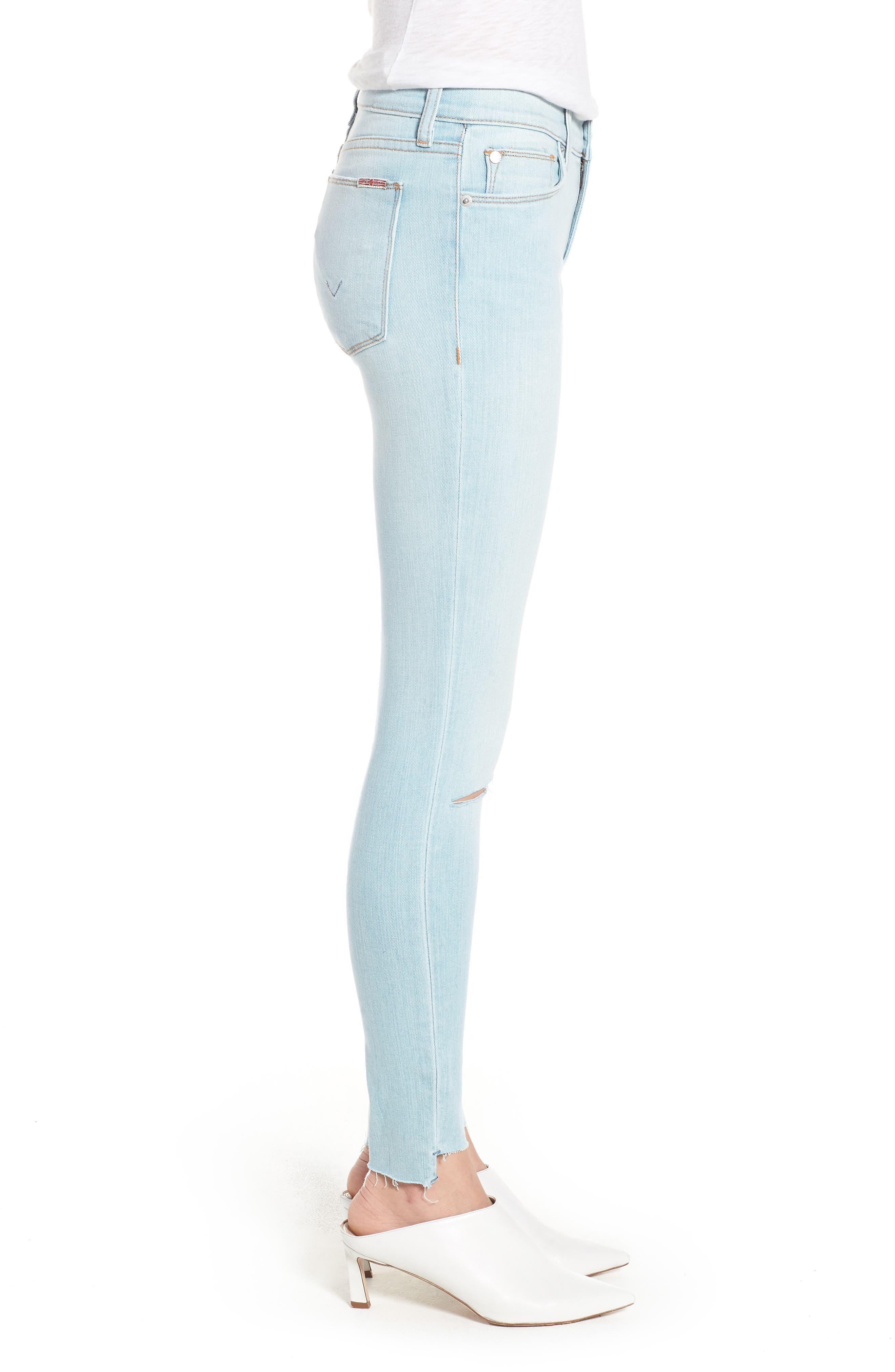 Krista Ankle Super Skinny Jeans,                             Alternate thumbnail 3, color,                             In Love