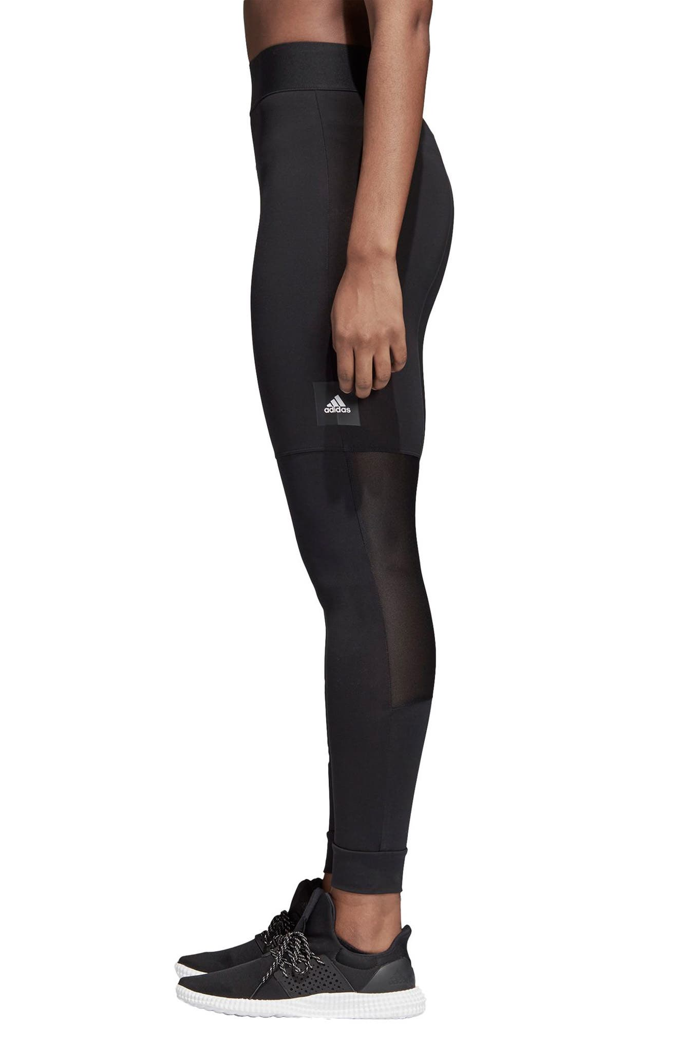 7/8 Leggings,                             Alternate thumbnail 3, color,                             Black